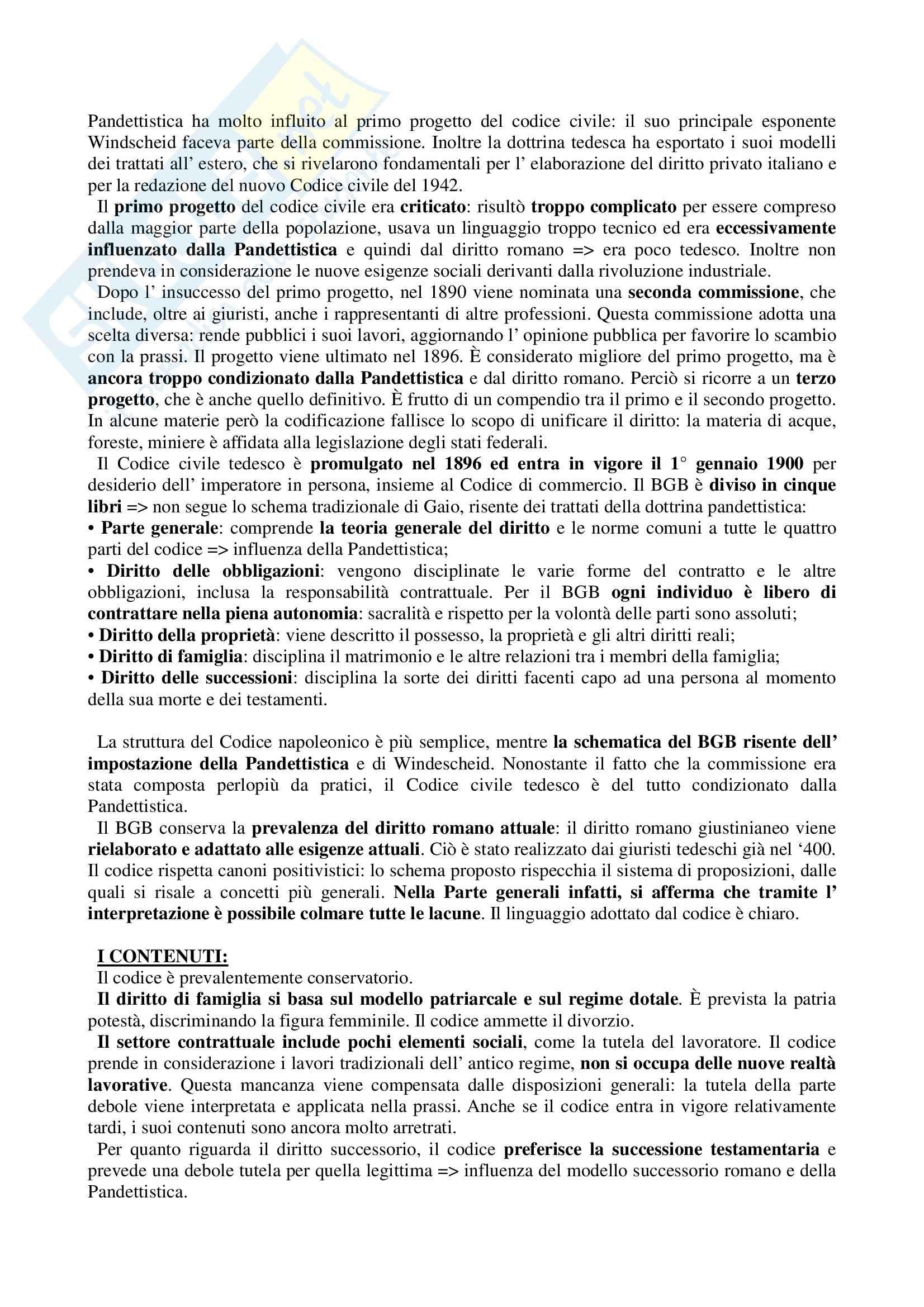 Storia del diritto medievale e moderno - Appunti Pag. 31