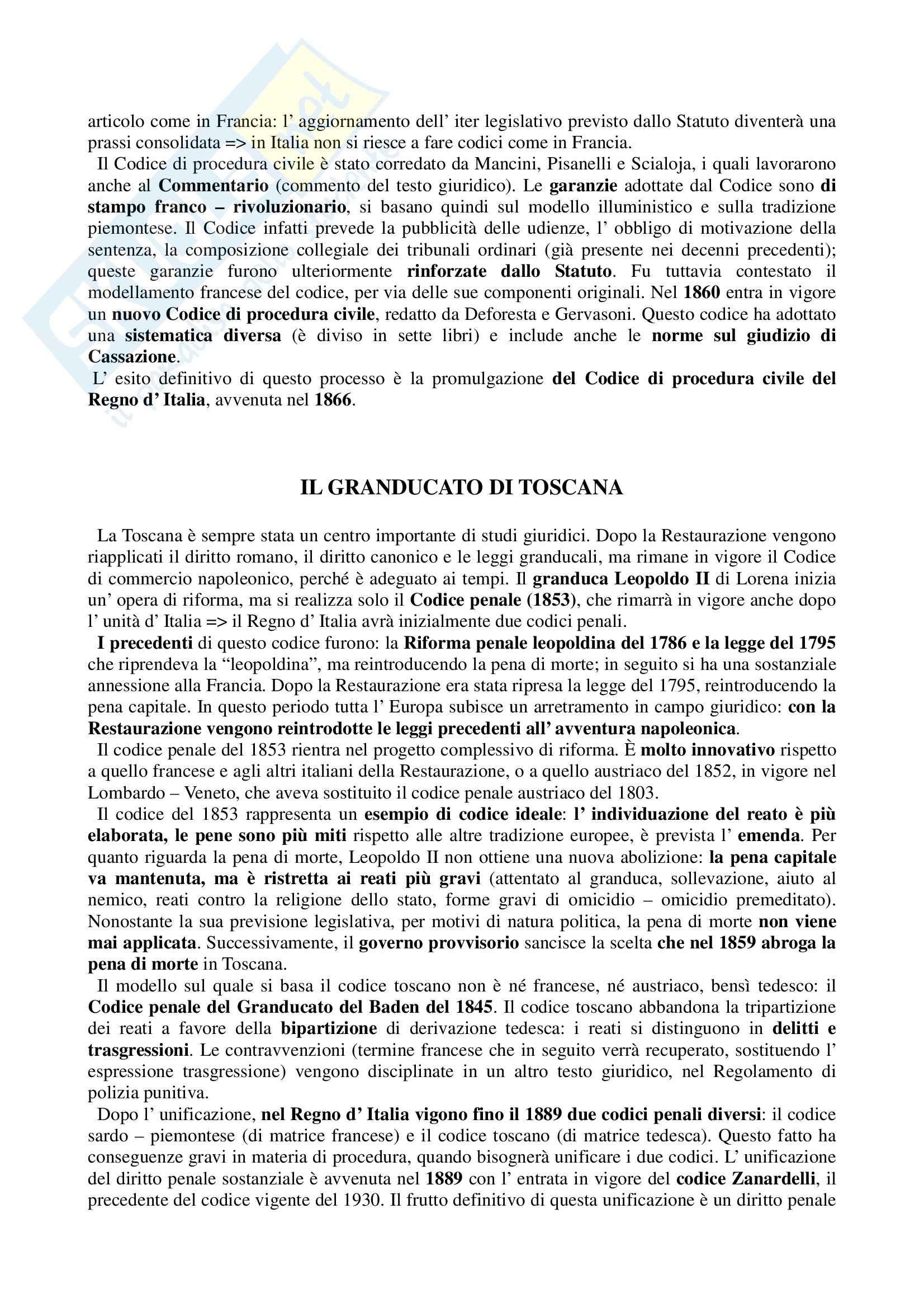 Storia del diritto medievale e moderno - Appunti Pag. 36