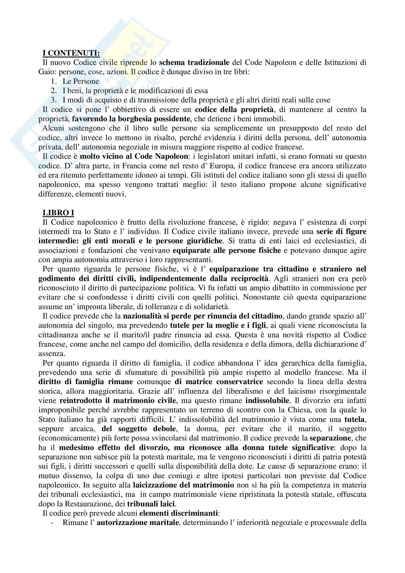 Storia del diritto medievale e moderno - Appunti Pag. 41