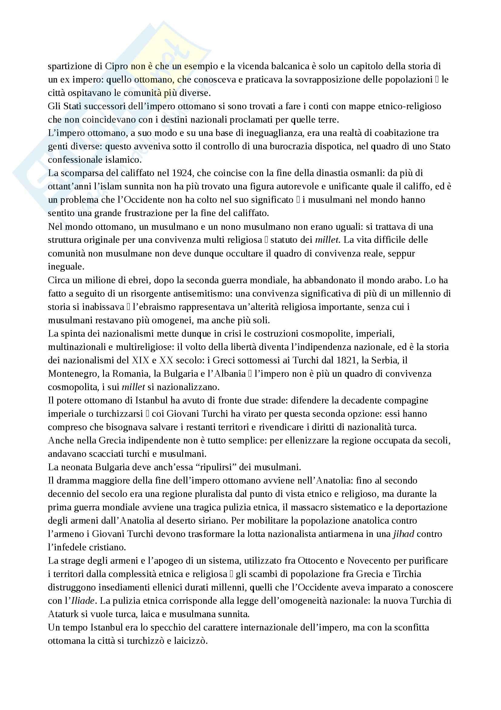 Riassunto esame Storia, prof. Giovagnoli, libro consigliato Convivere, Riccardi Pag. 2