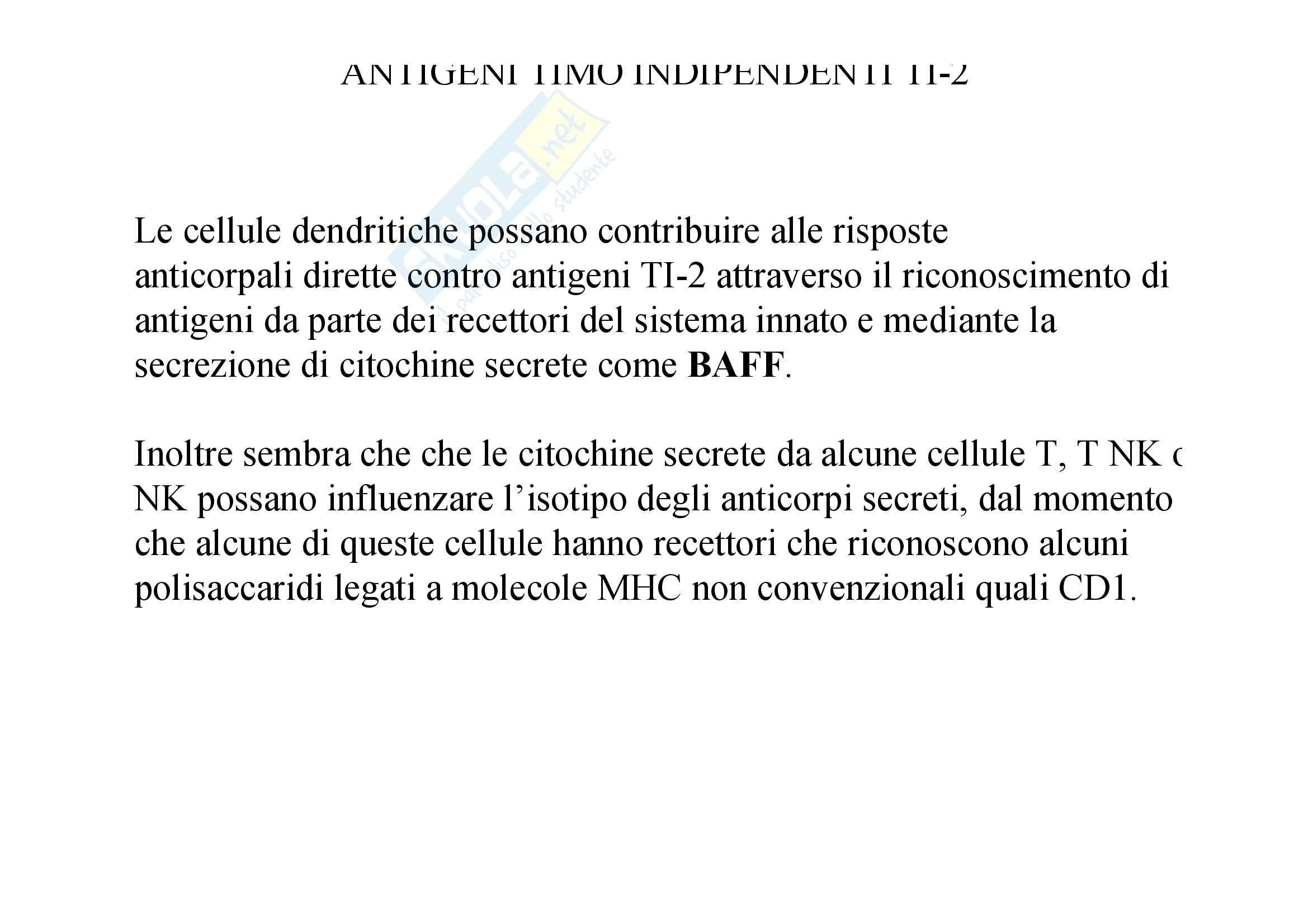 Immunologia - scambio di classe Pag. 16