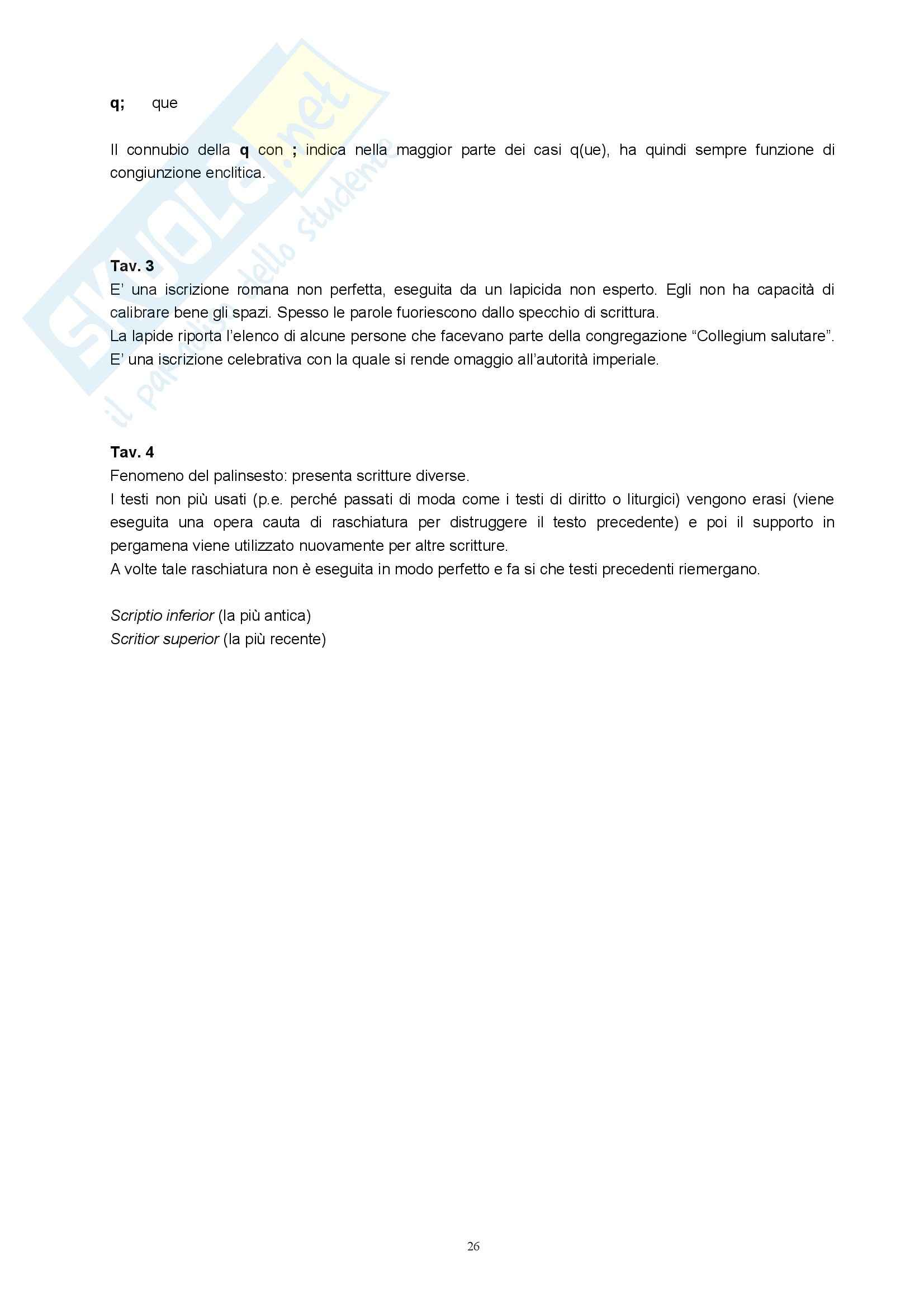 Paleografia latina - Appunti Pag. 26
