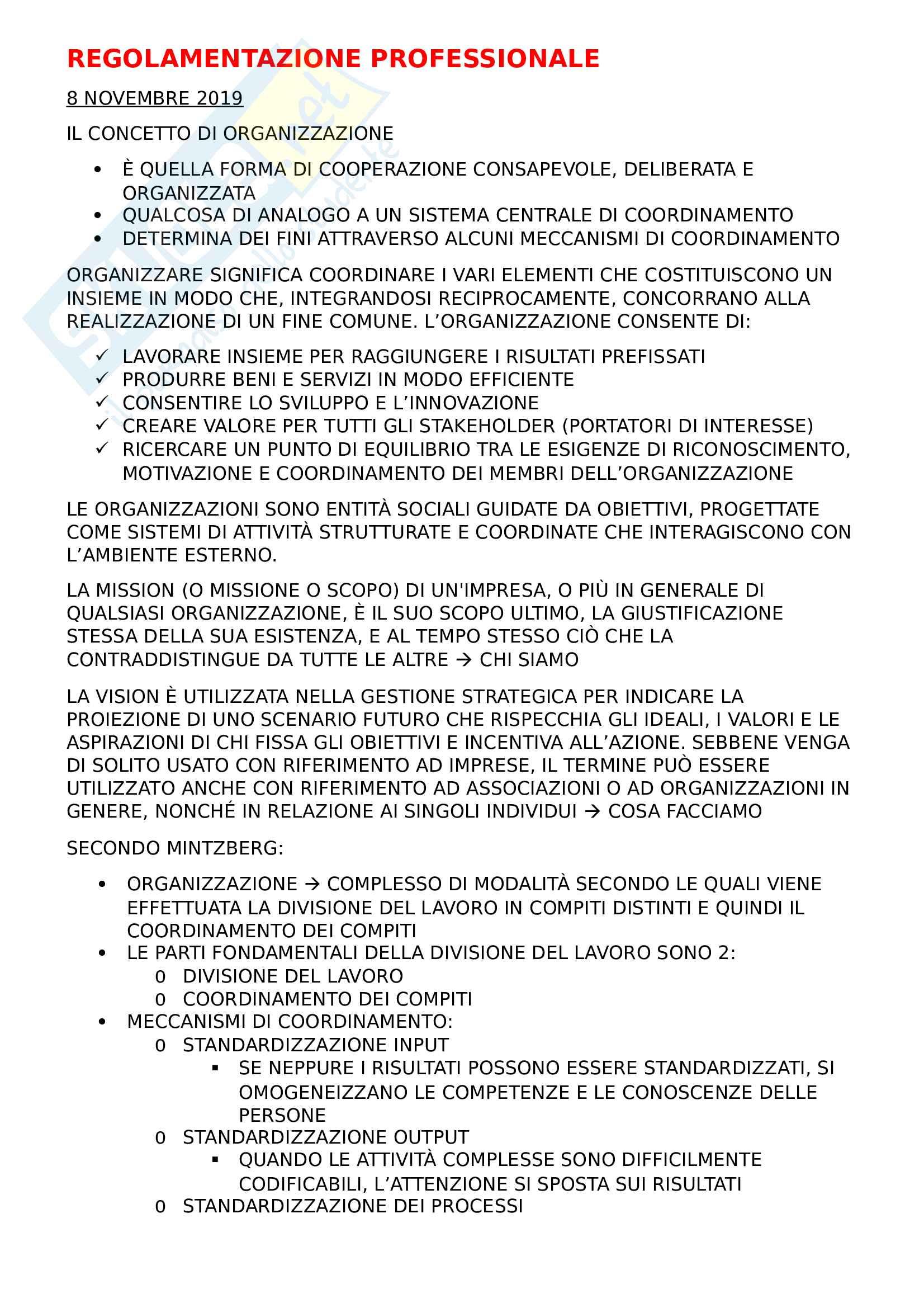 Regolamentazione professionale (infermieristica)
