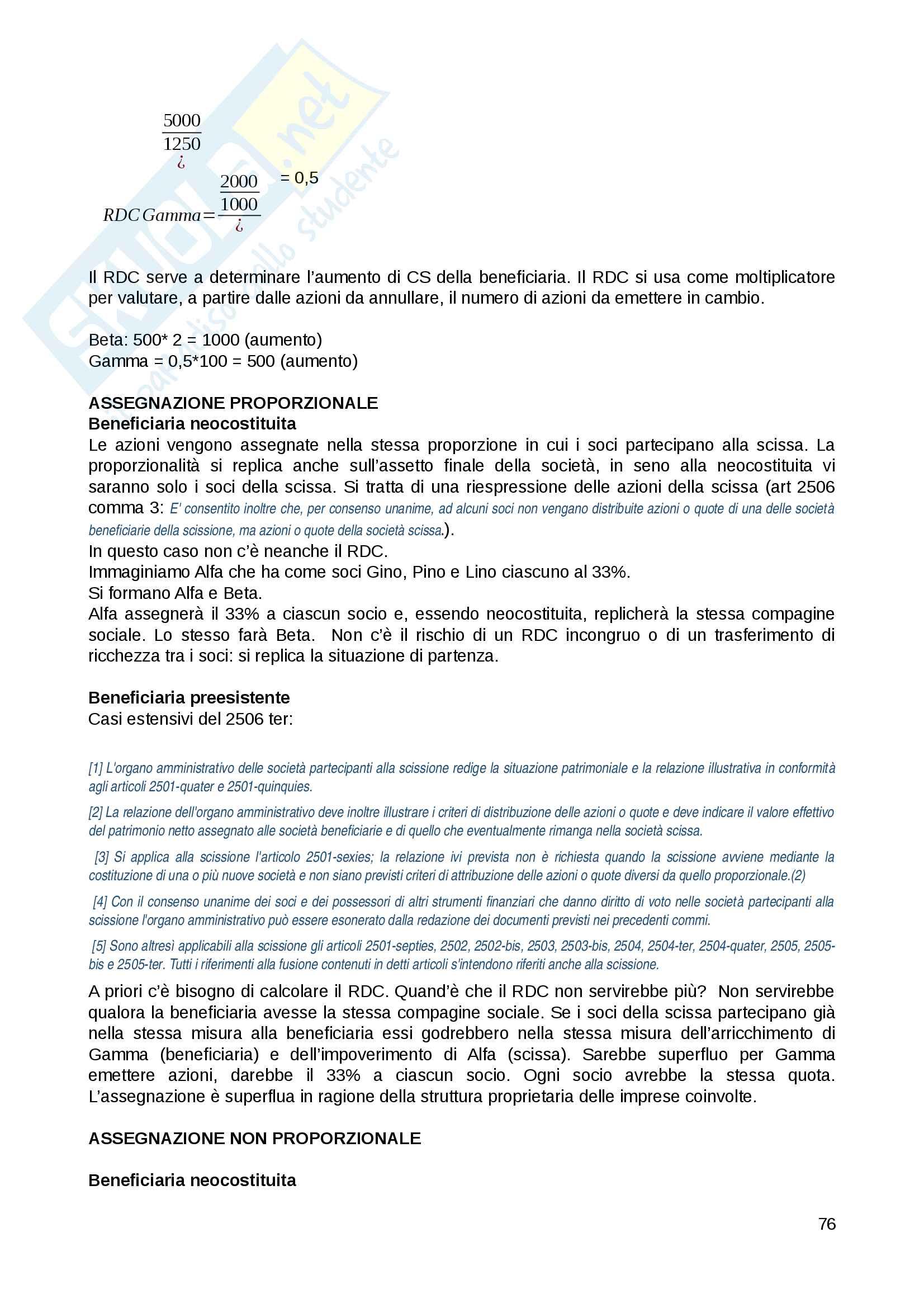 Appunti Diritto commerciale corso progredito Pag. 76