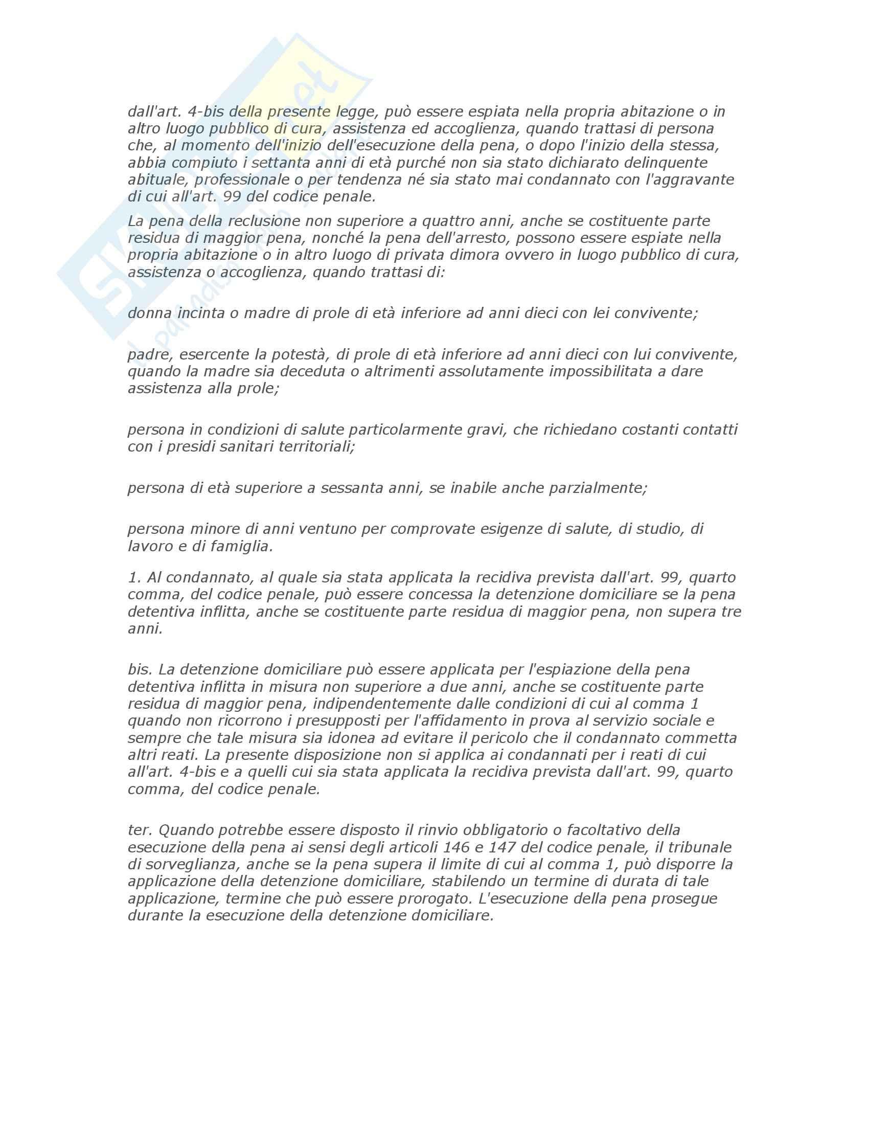 Riassunto esame Diritto penitenziario, prof. Scomparin, libro consigliato Compendio Diritto penitenziario Pag. 101