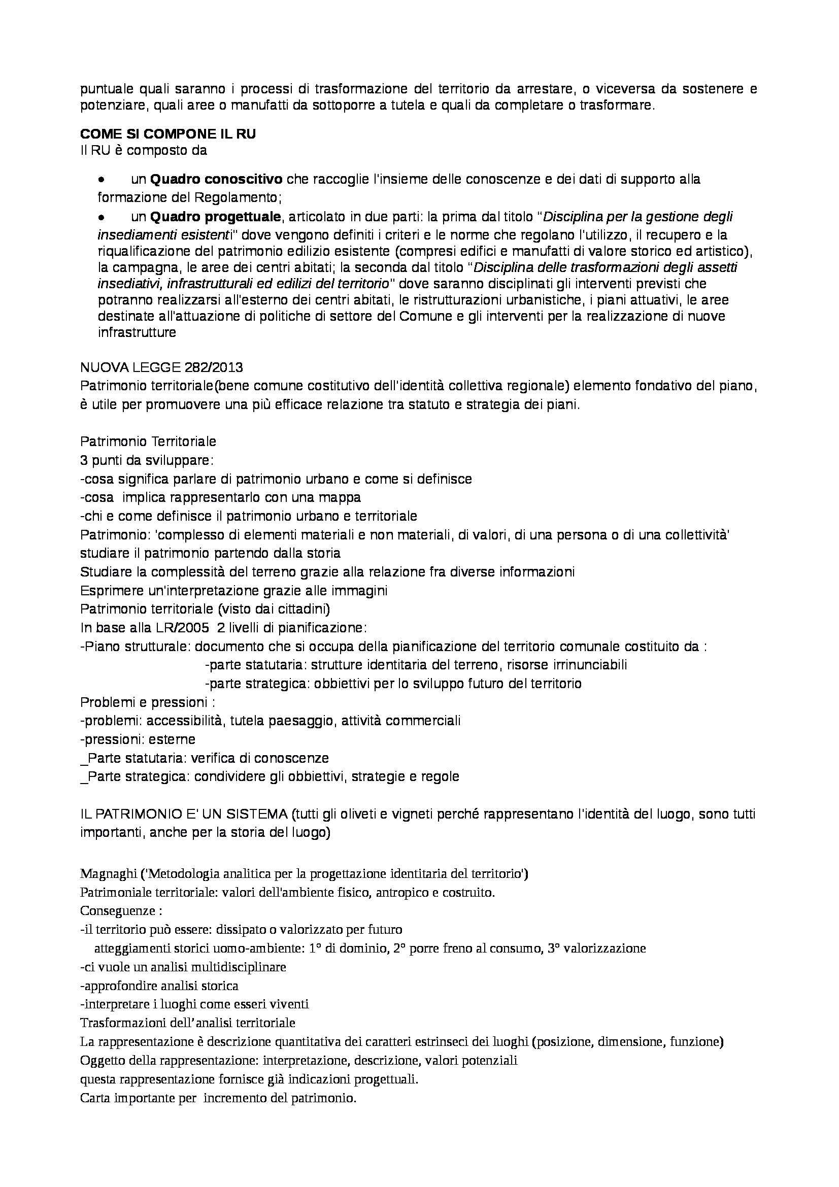 Analisi del territorio - Appunti Pag. 11