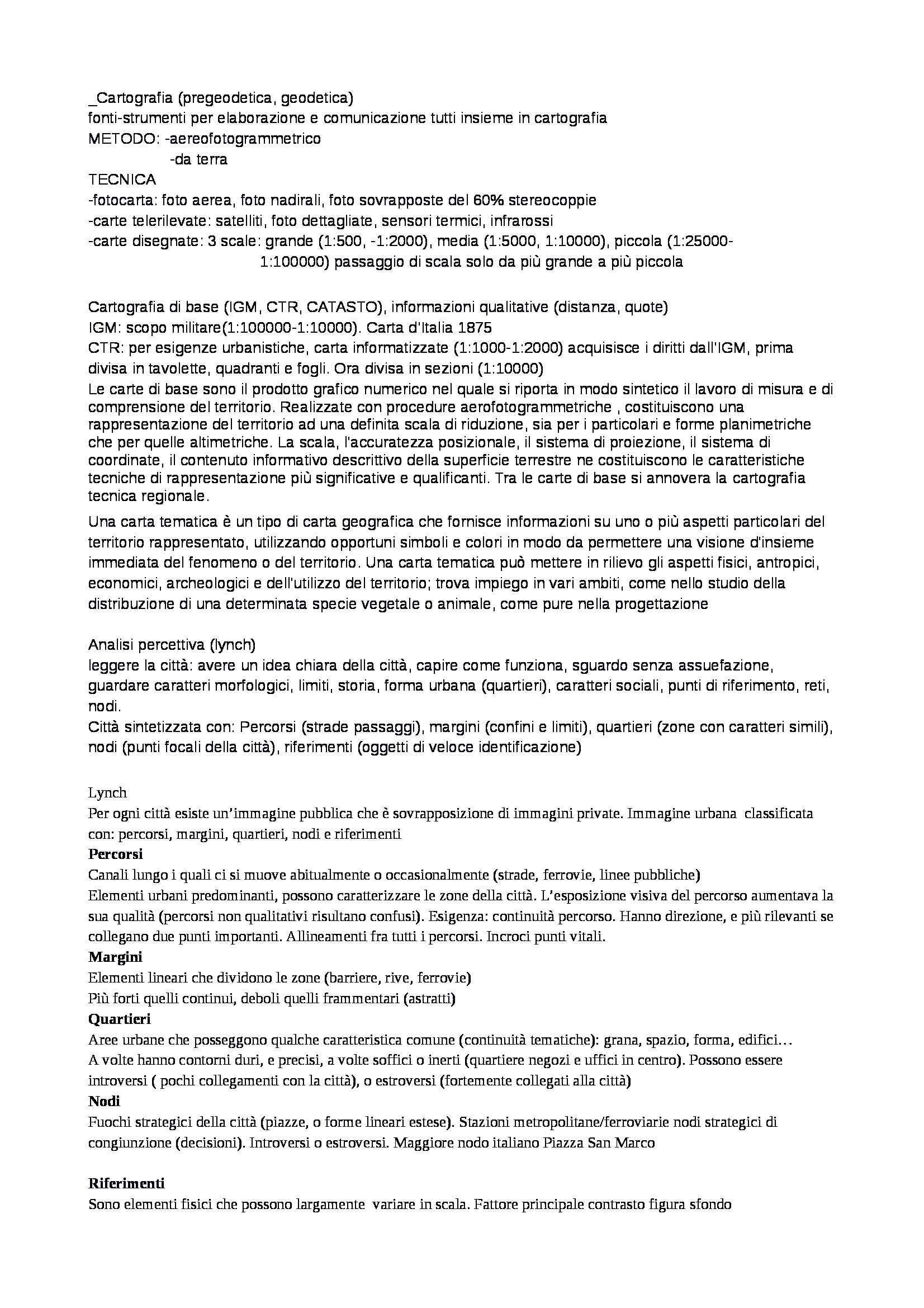 Analisi del territorio - Appunti Pag. 2