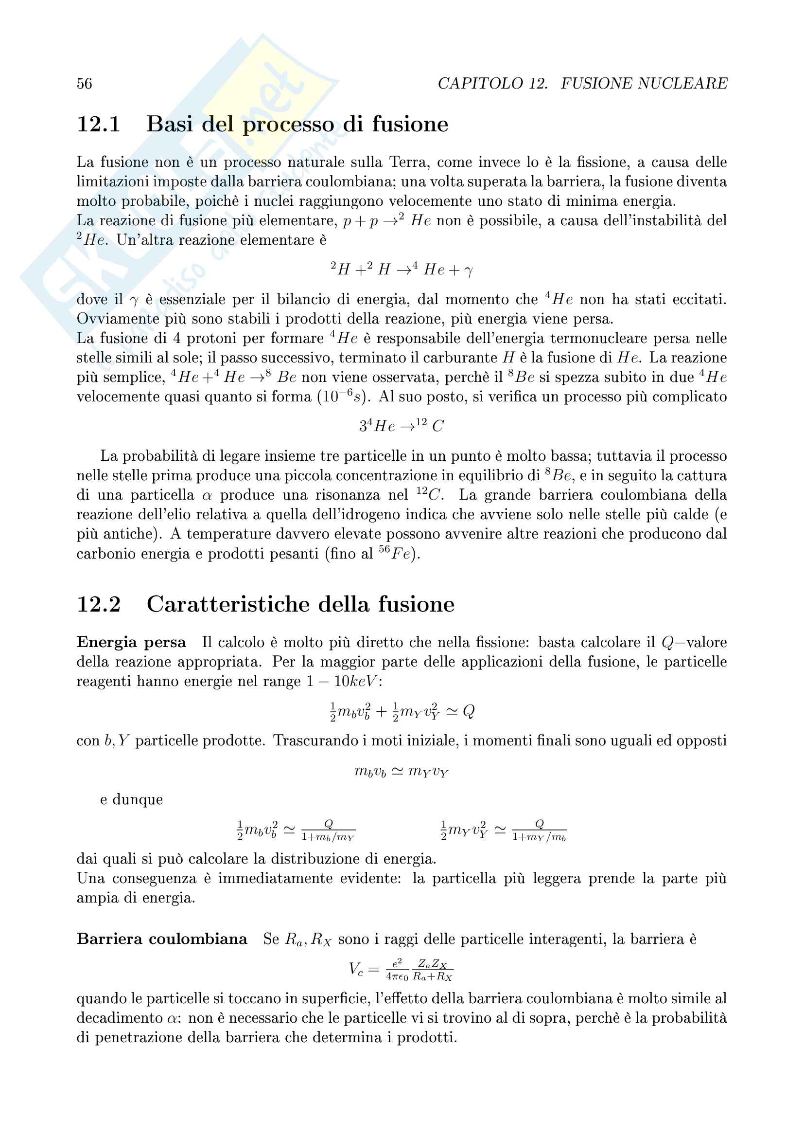 Fisica Nucleare Pag. 56