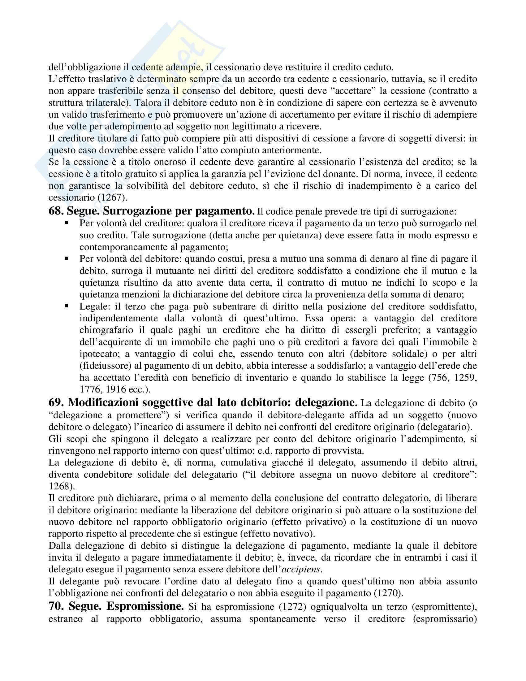 Riassunto esame Diritto Privato, prof. Perlingieri, libro consigliato Manuale di Diritto Civile Pag. 21