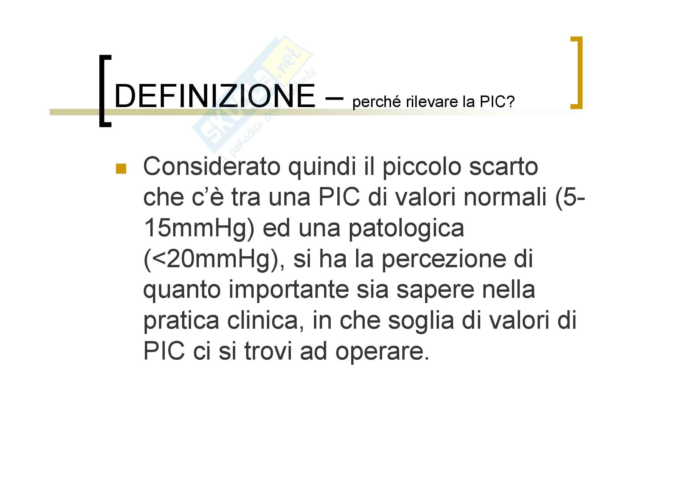 Neurochirurgia - la pressione intracranica Pag. 6
