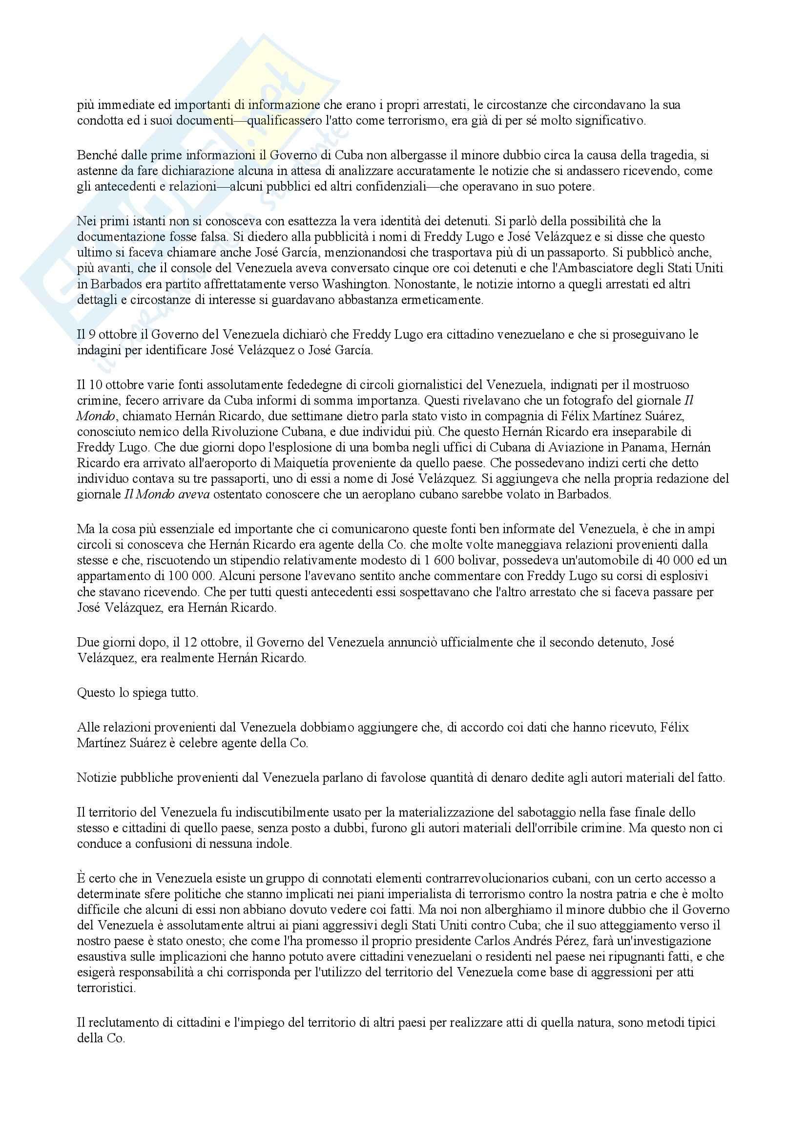 Traduzione discorso Fidel Castro Pag. 2