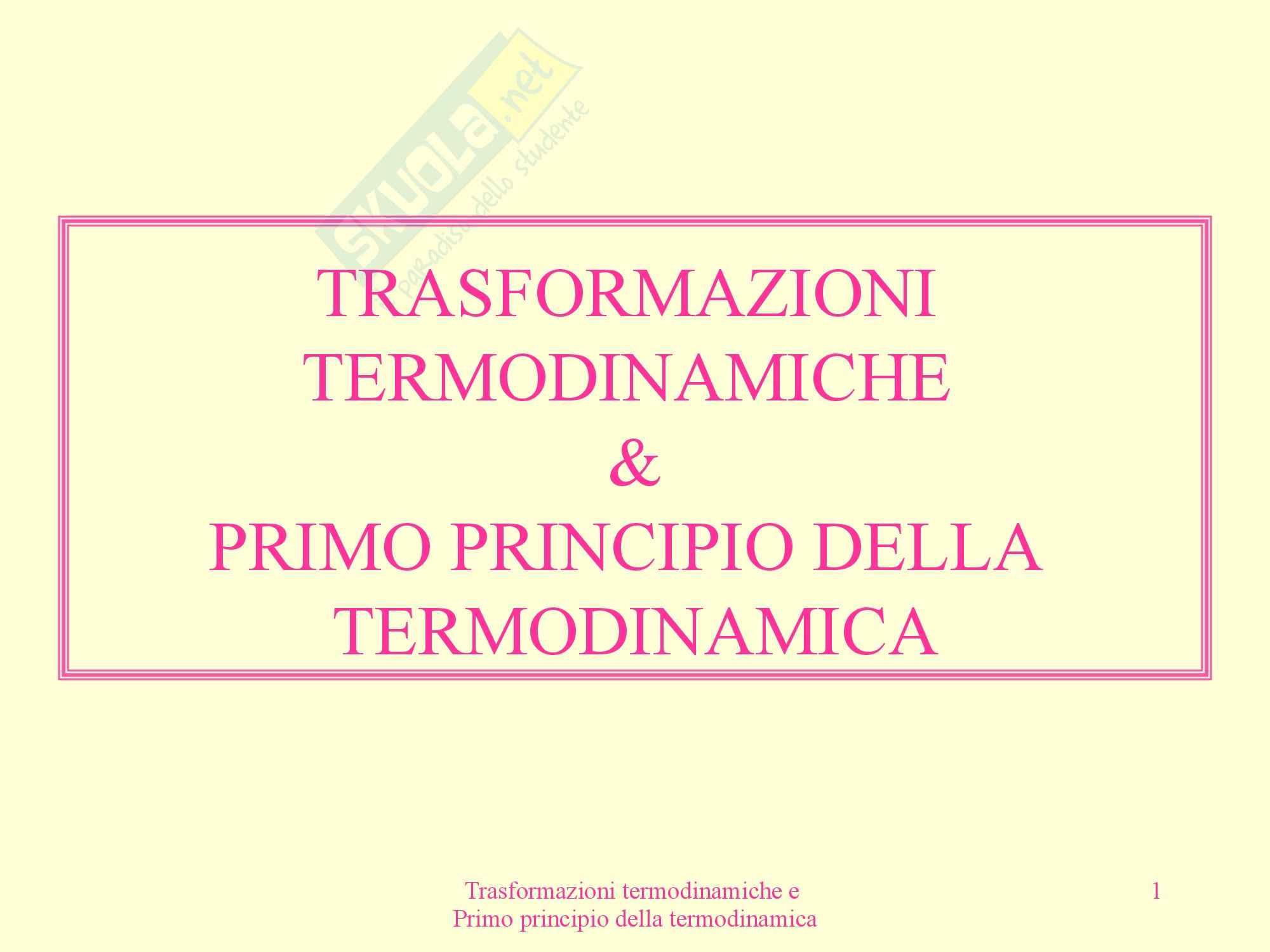 Fisica medica - termodinamica