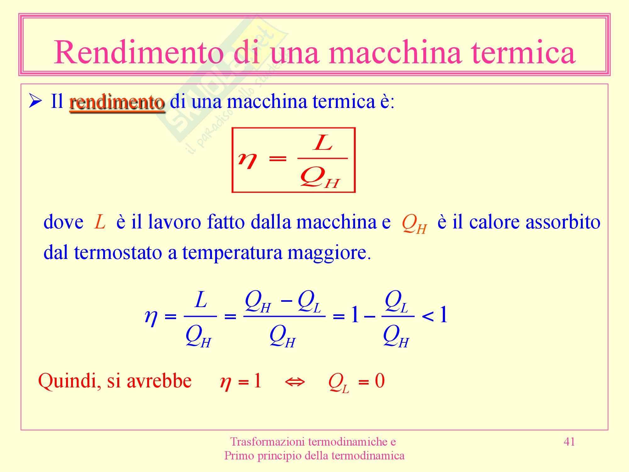 Fisica medica - termodinamica Pag. 41