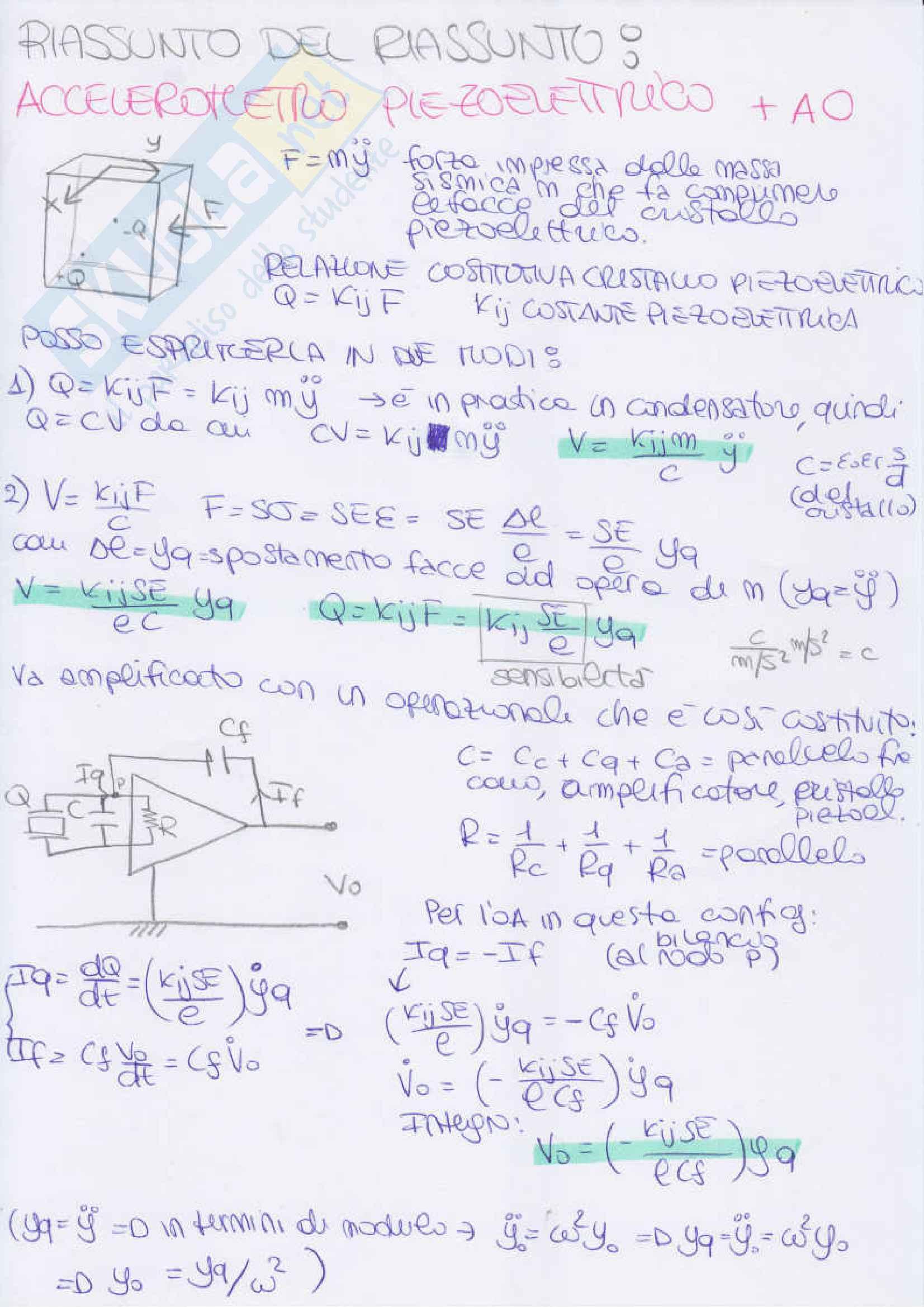 Misure Meccaniche e Termiche - riassunti, esercizi Pag. 76