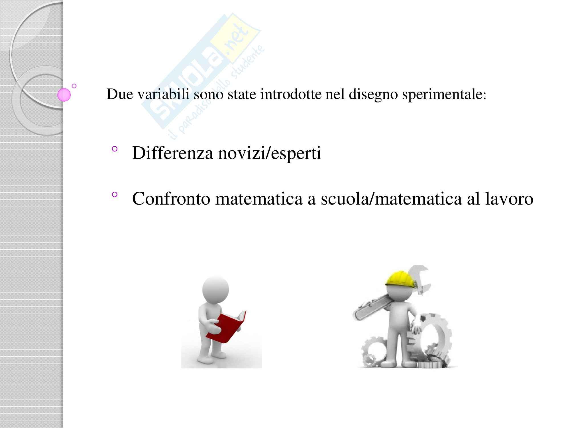 Presentazione Powerpoint per esercitazione esame Psicologia e scuola sullo studio del'intelligenza al lavoro Pag. 11