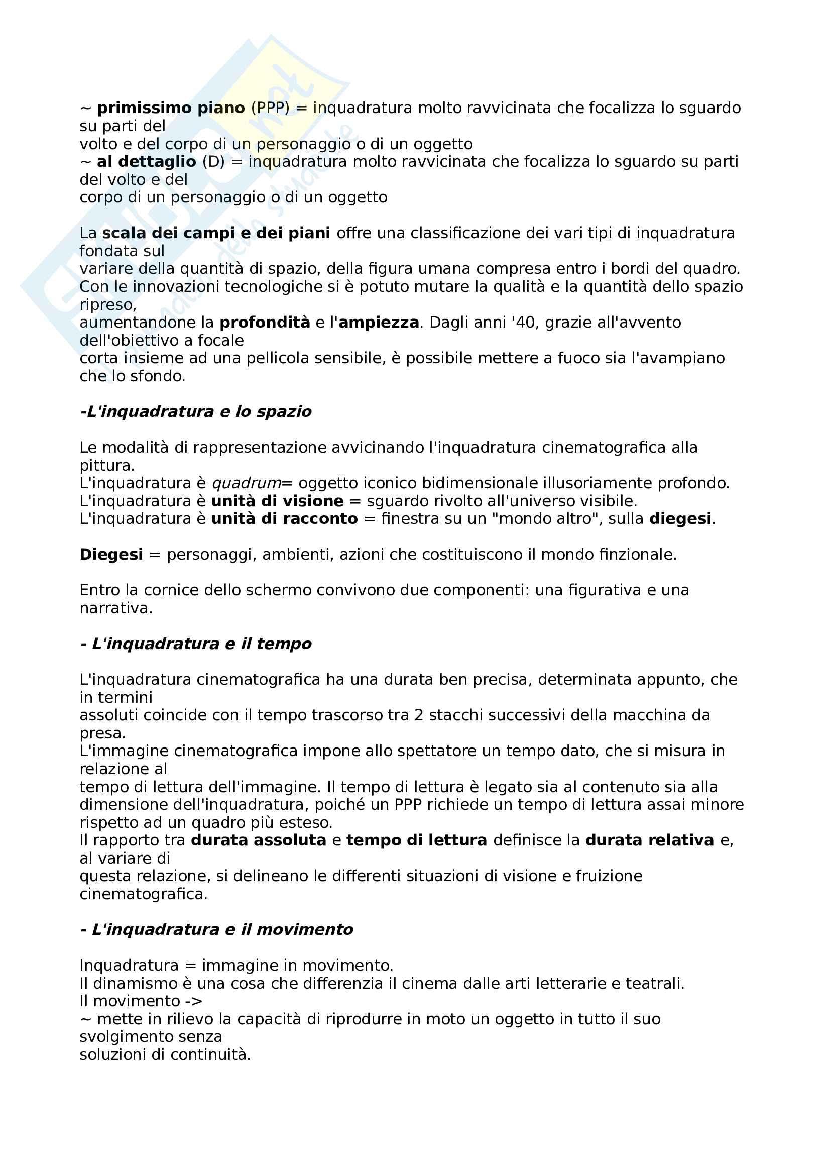 Riassunto esame Storia e critica del cinema Pag. 31