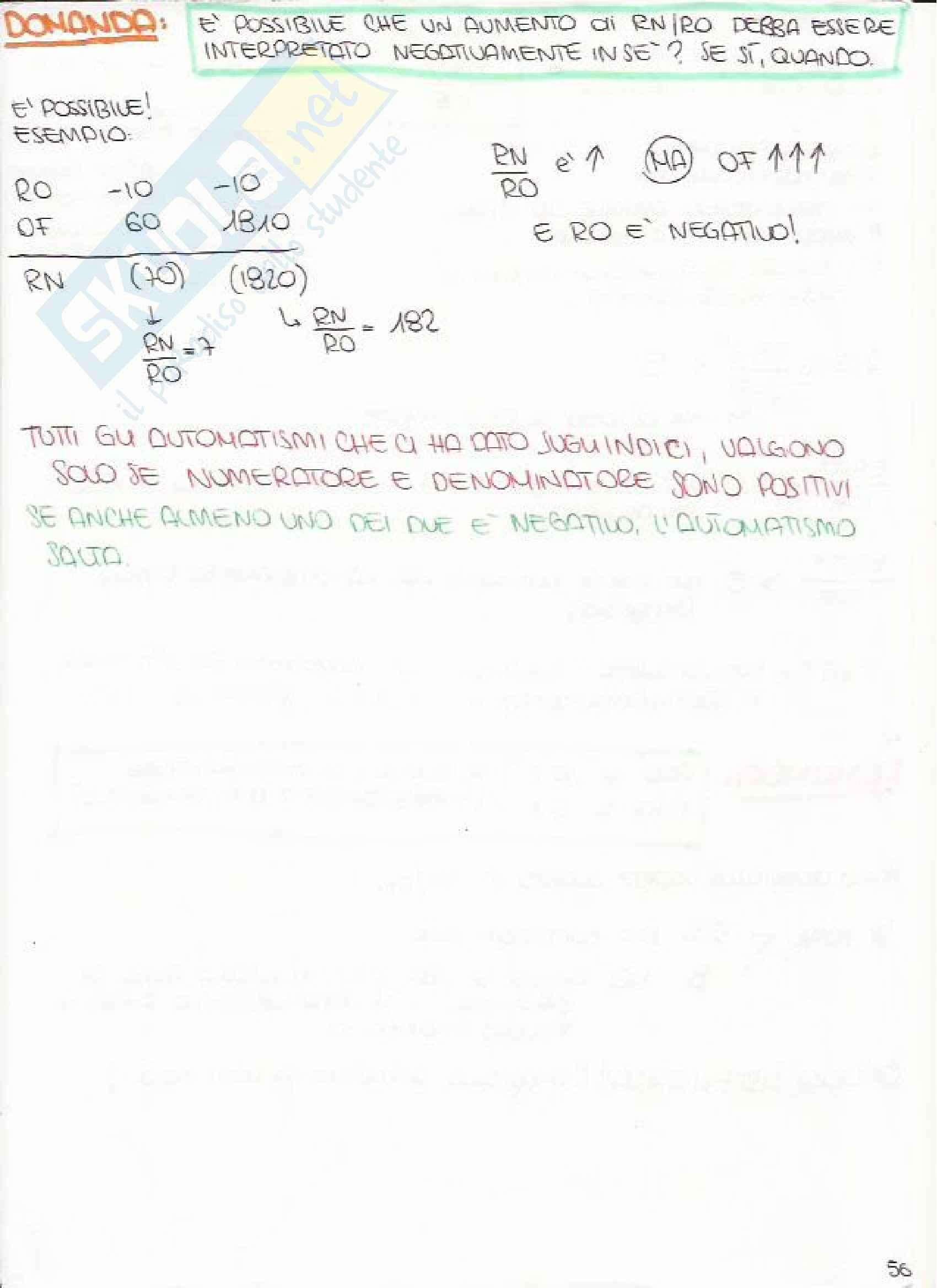 Bilancio e Analisi Economico Finanziaria - Appunti Pag. 56