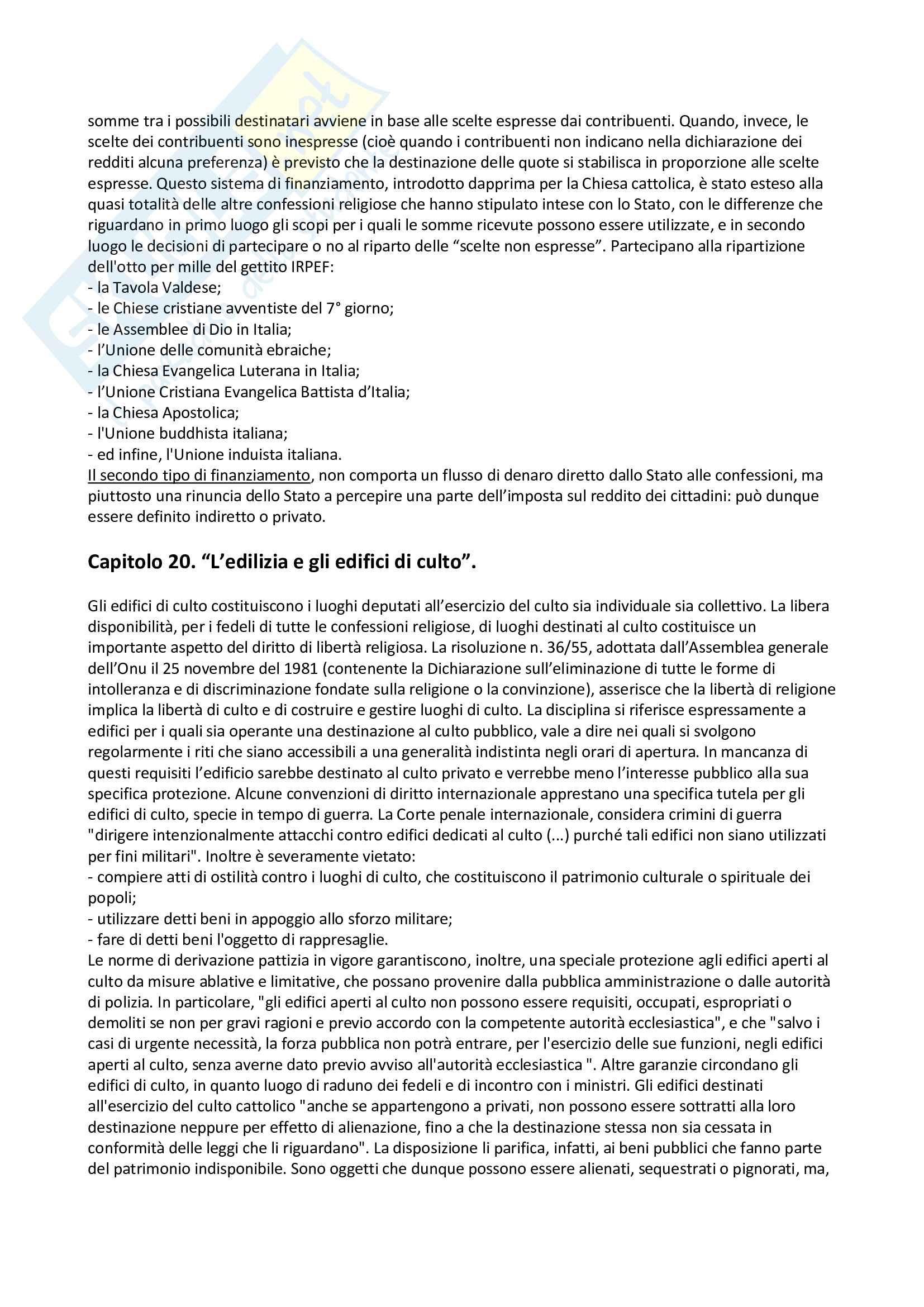 Riassunto esame diritto ecclesiastico, prof. Mantineo, libro consigliato Nozioni di diritto ecclesiastico, Casuscelli Pag. 16