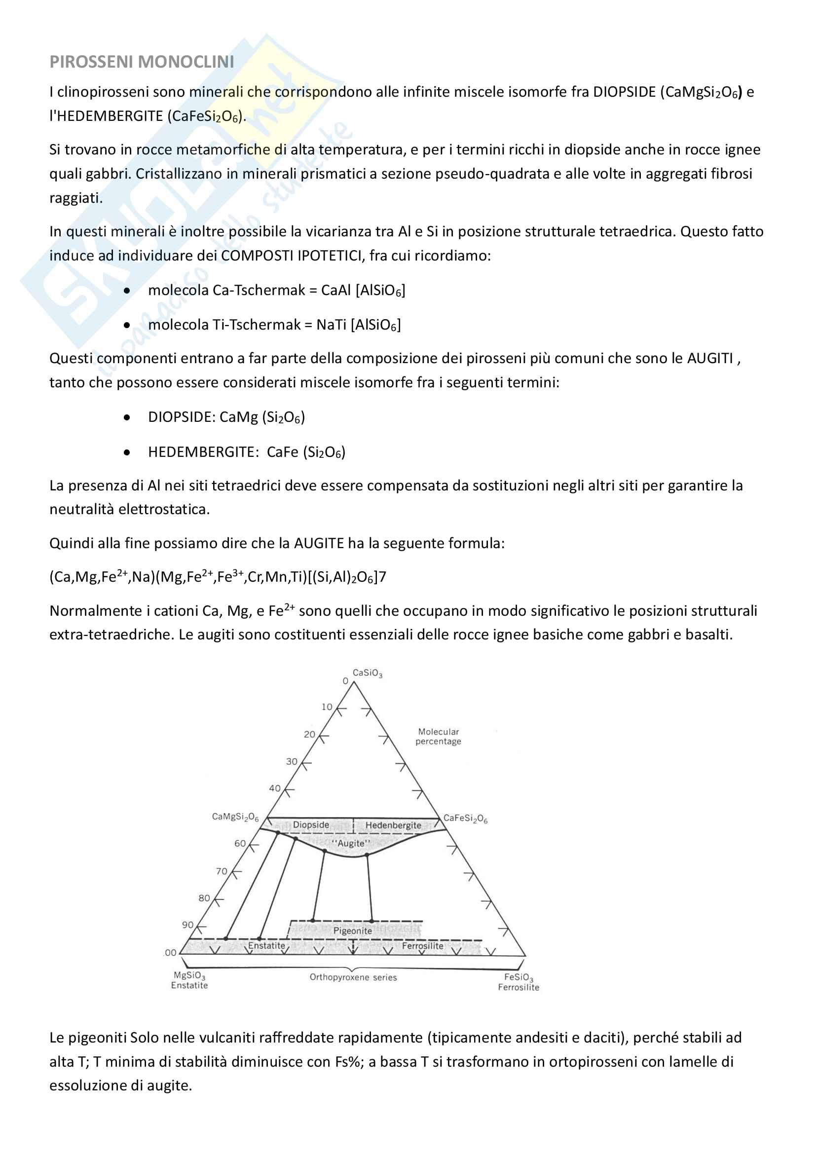 Classificazione dei minerali - Mineralogia Pag. 26