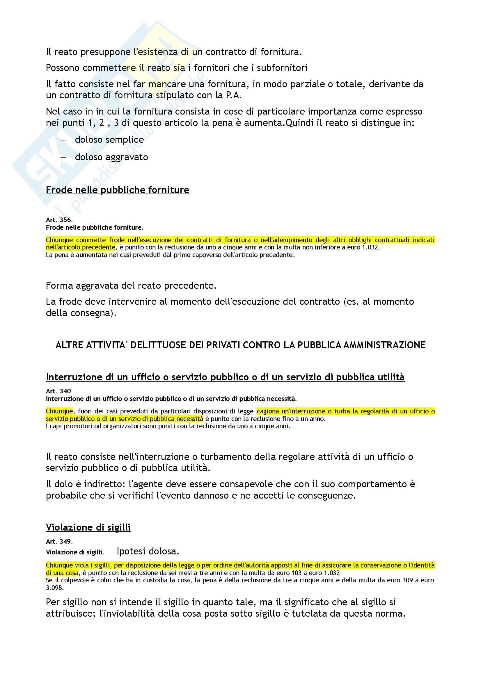 Diritto penale II - i reati contro l'ordine pubblico Pag. 26