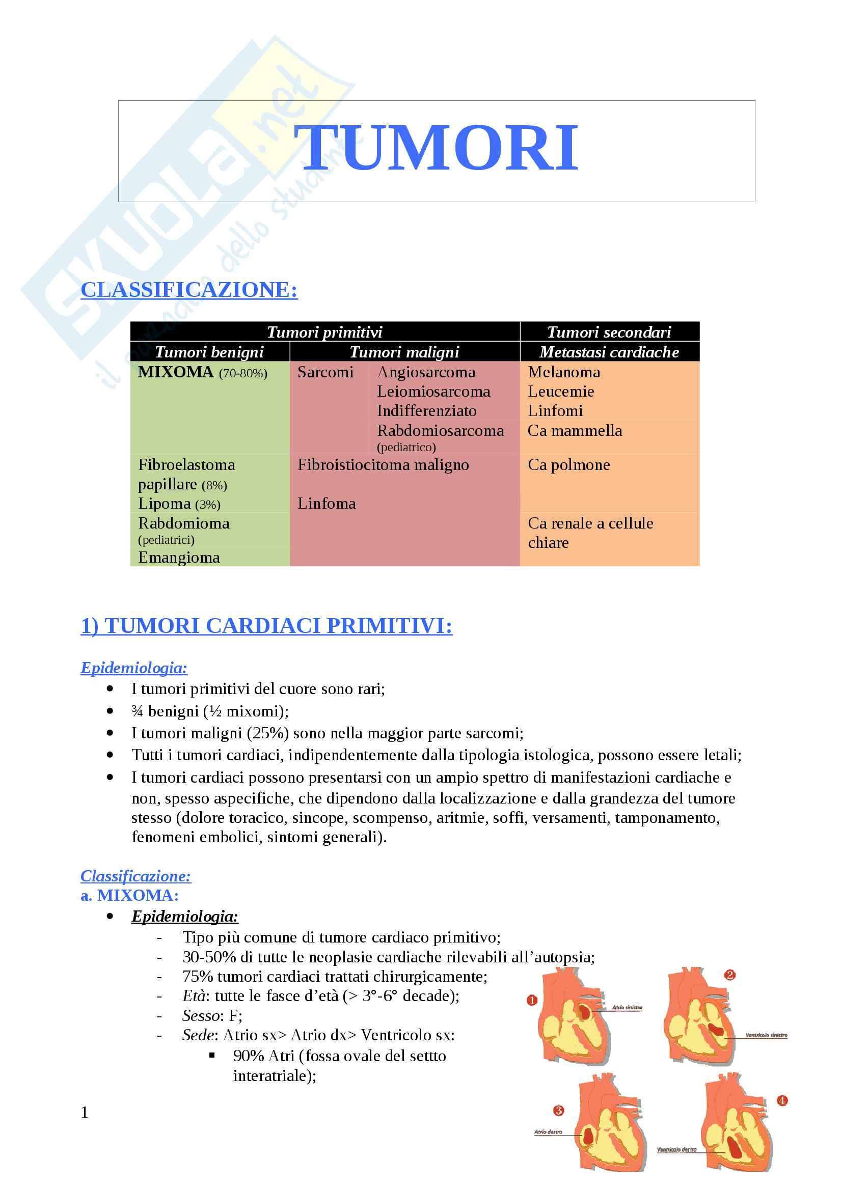 appunto P. Scienze mediche Semeiotica e patologia degli apparati