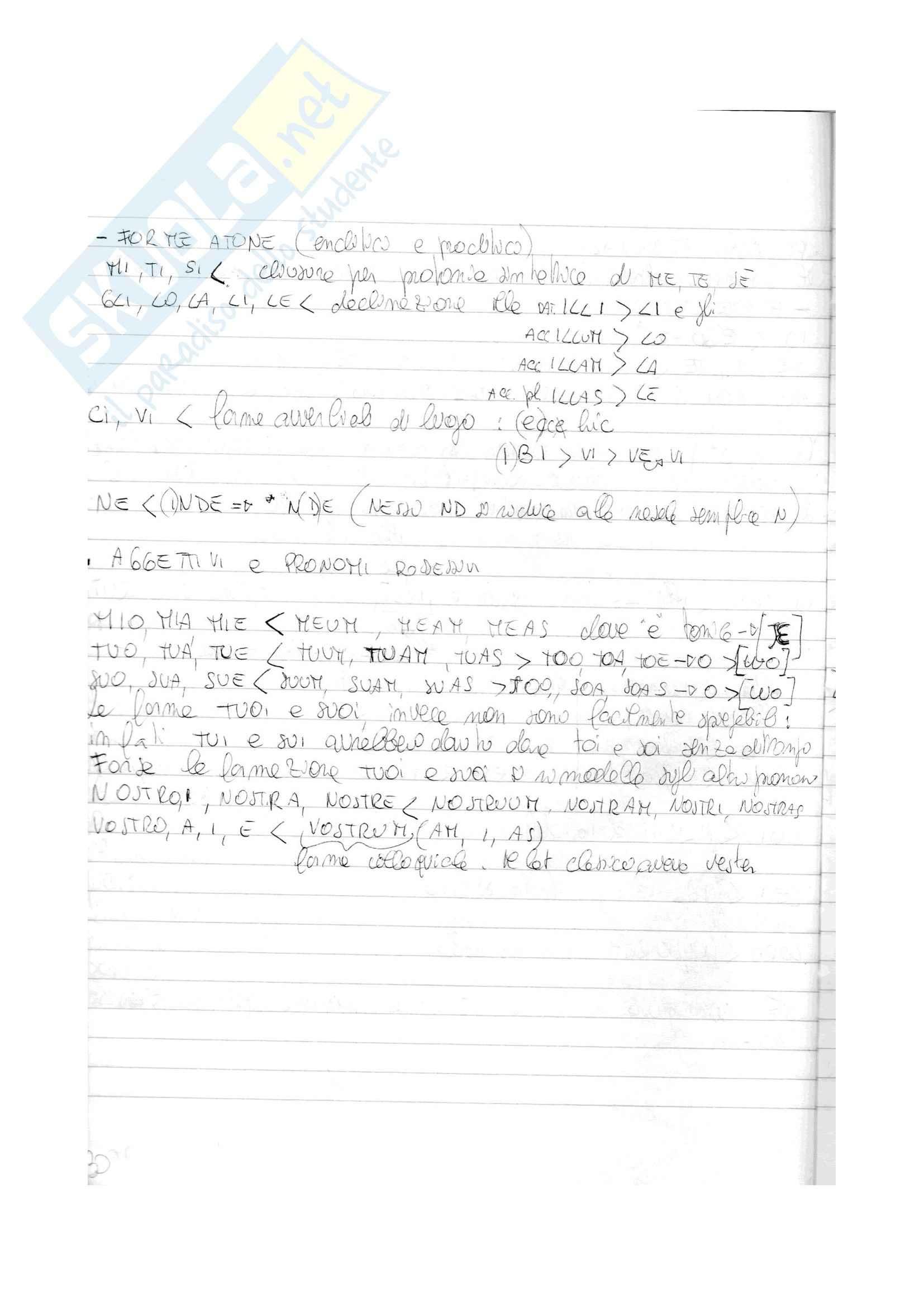 Riassunto esame Linguistica italiana, prof. Zublena Pag. 31