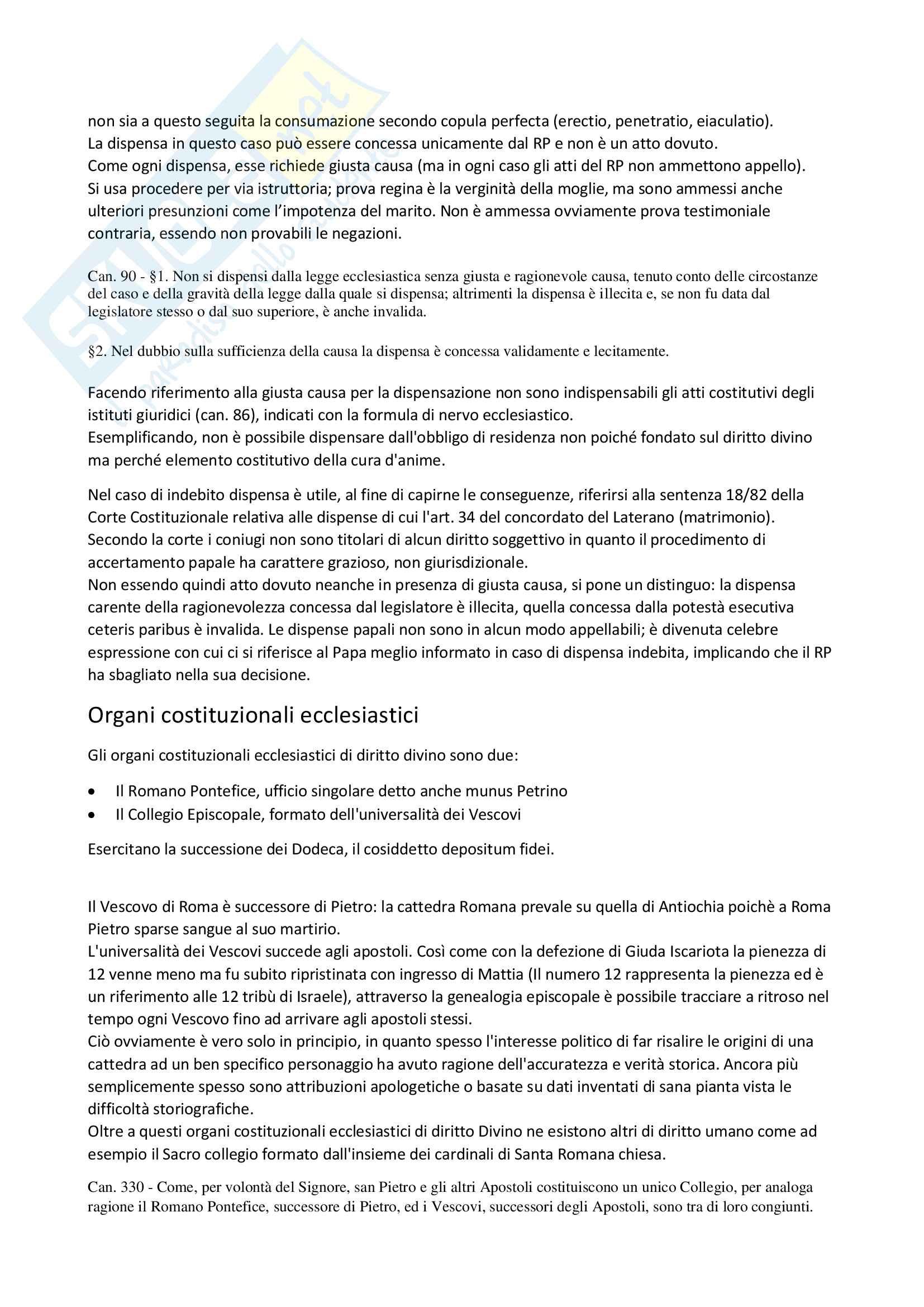 Appunti Diritto Canonico Frequentanti Pag. 11