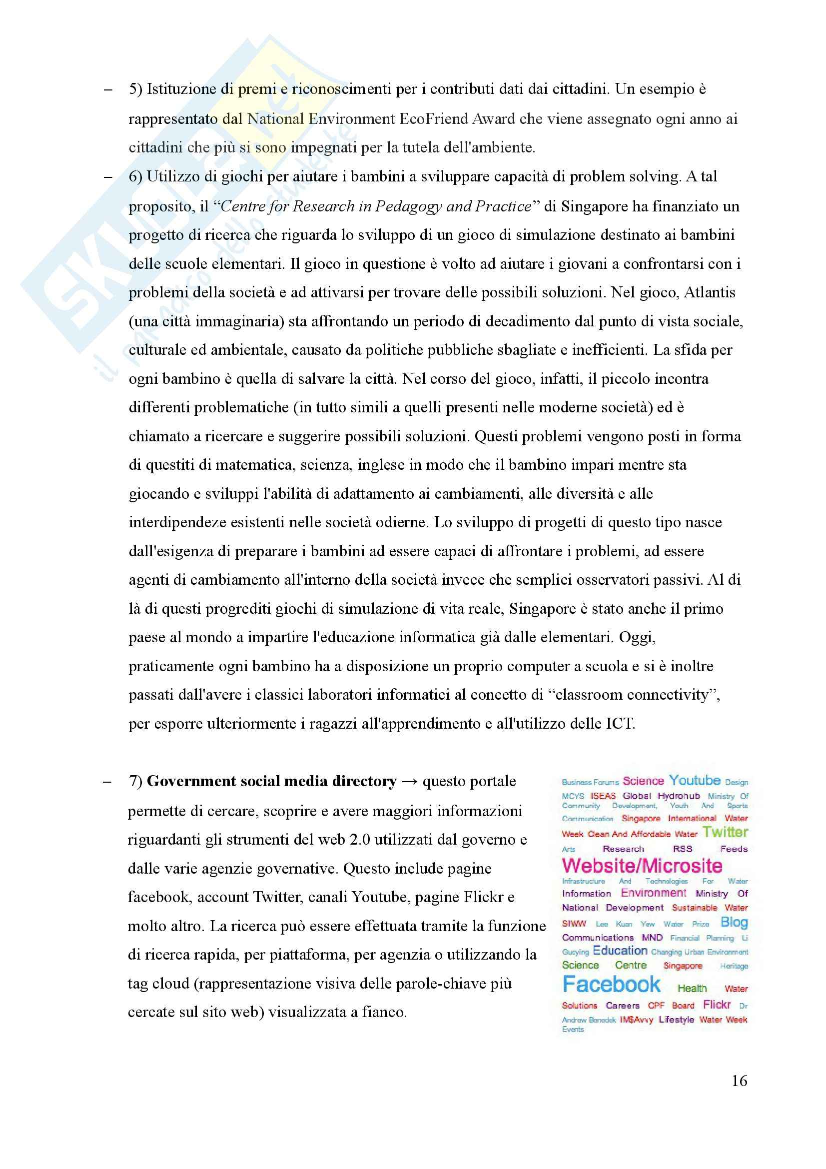 Tesi, Smart Cities: due casi a confronto Pag. 16