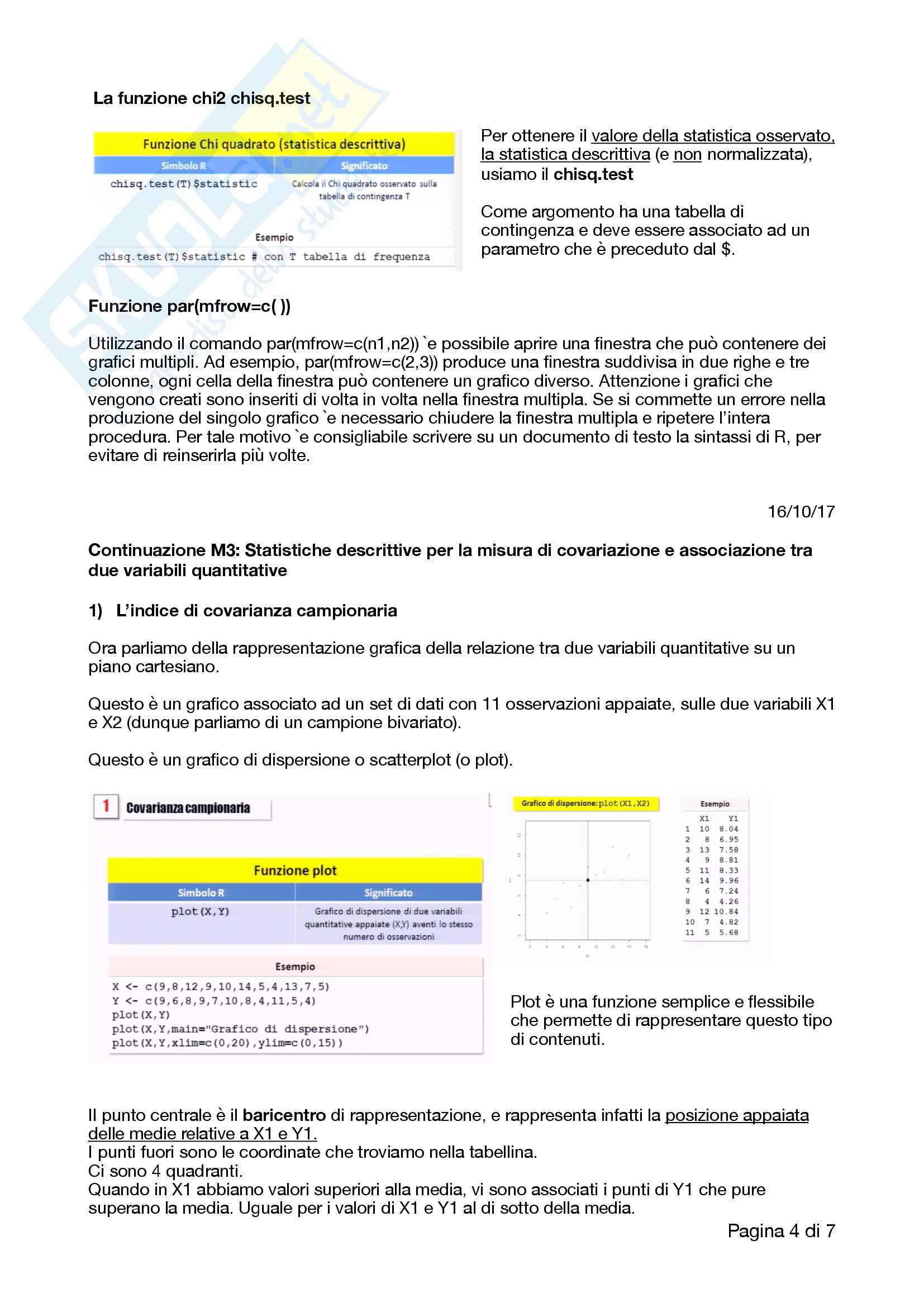 Appunti completi e ottimi di analisi dei dati, R, RStudio e correlati con esempi e esercizi Pag. 31