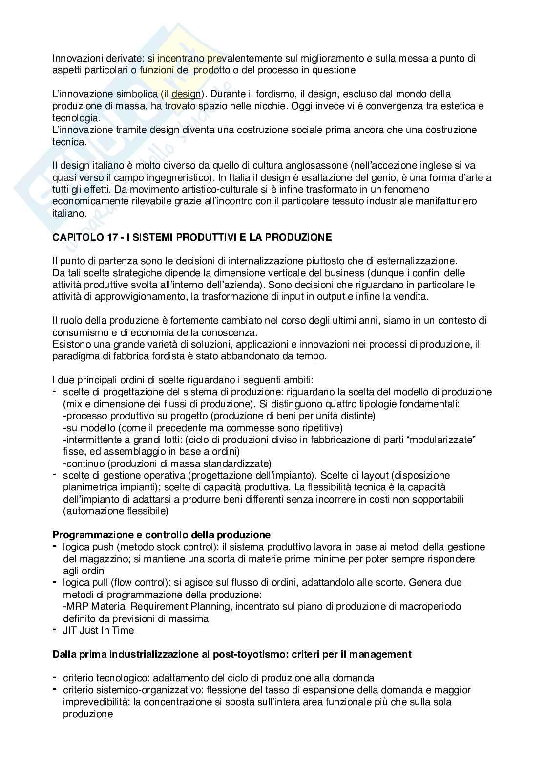 Management - Riassunto lezioni Pag. 31