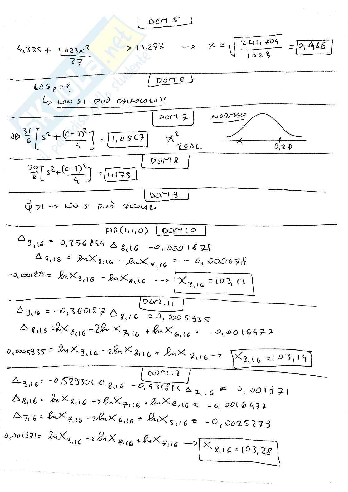 Metodi quantitativi per il management Pag. 31