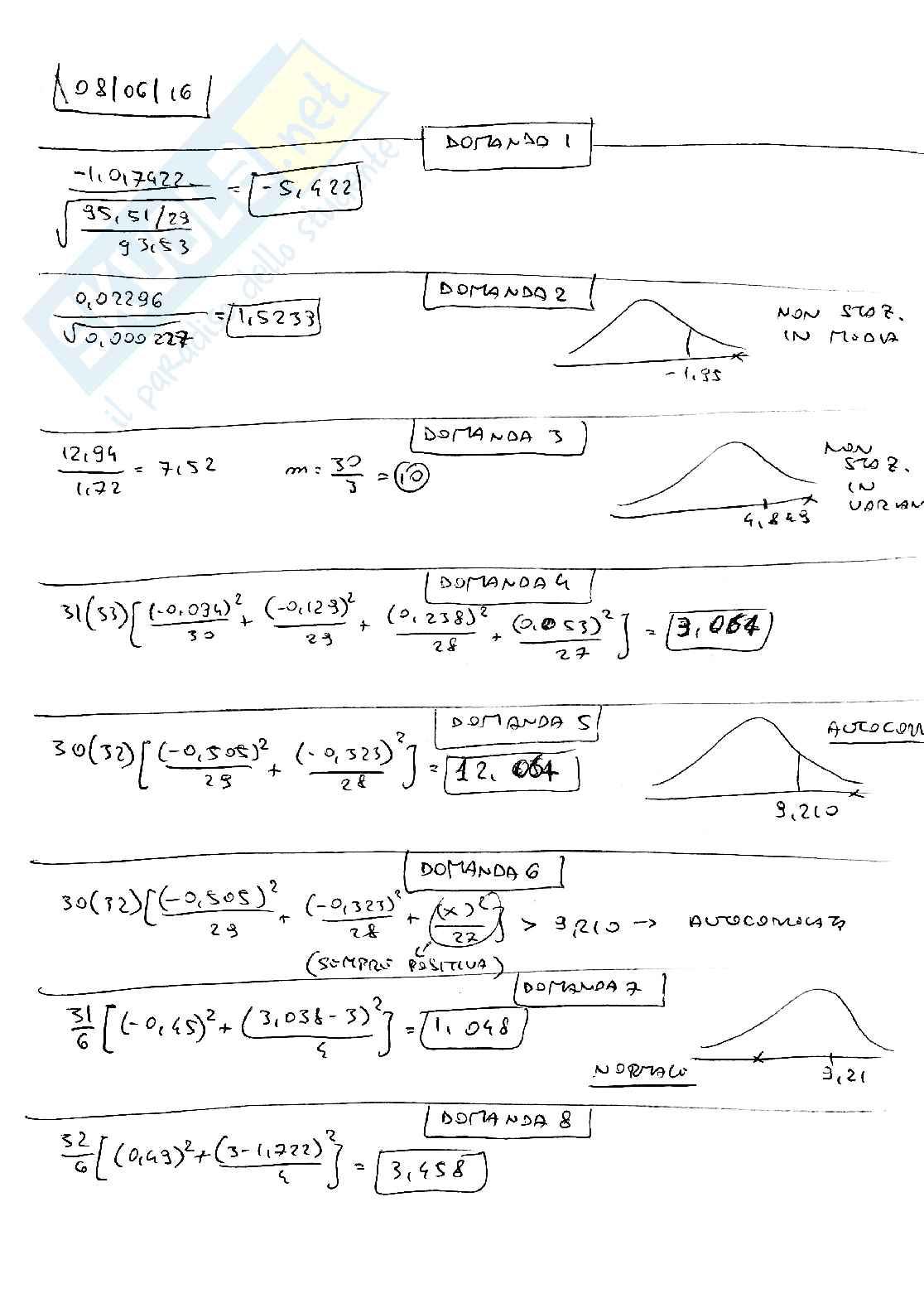 Metodi quantitativi per il management Pag. 41