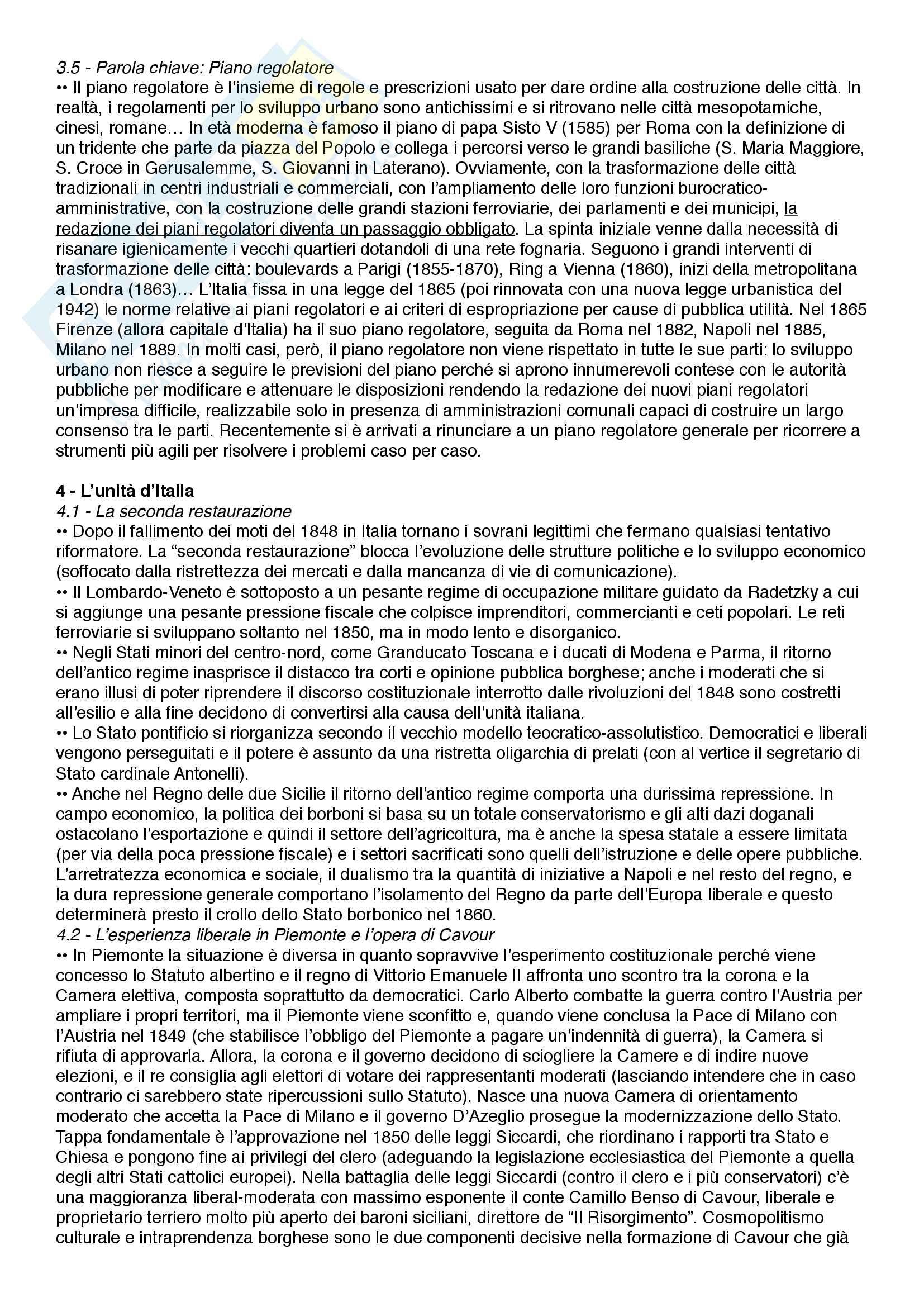 Riassunto esame Istituzioni di storia contemporanea, prof.  Roccucci, libro consigliato Il mondo contemporaneo - dal 1848 a oggi, Sabbatucci, Vidotto Pag. 11