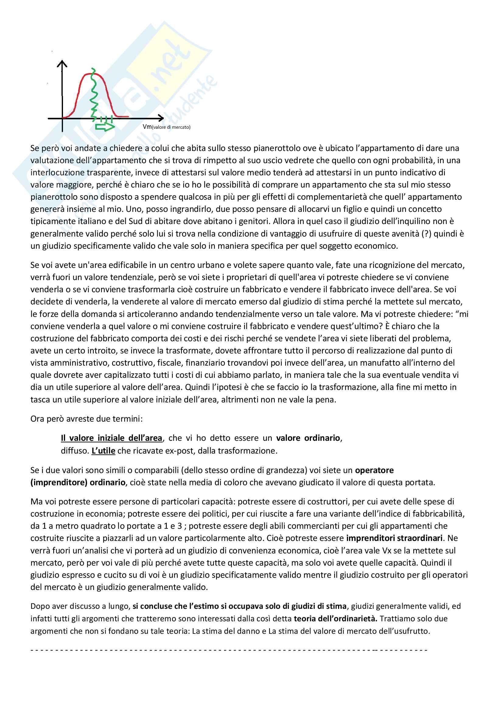 Economia ed Estimo (Estimo) Pag. 2