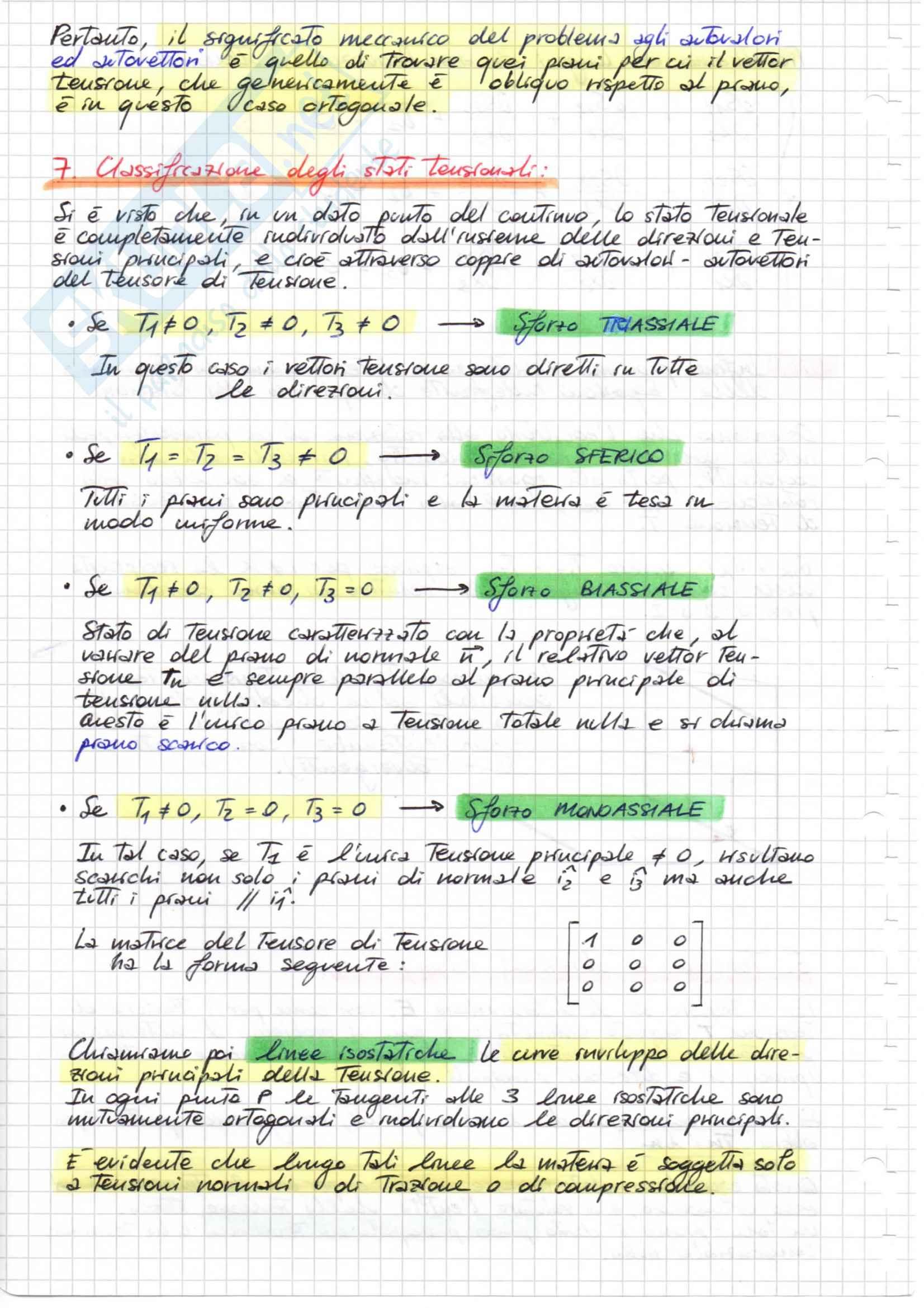 TEORIA COMPLETA, Scienza delle Costruzioni Pag. 16