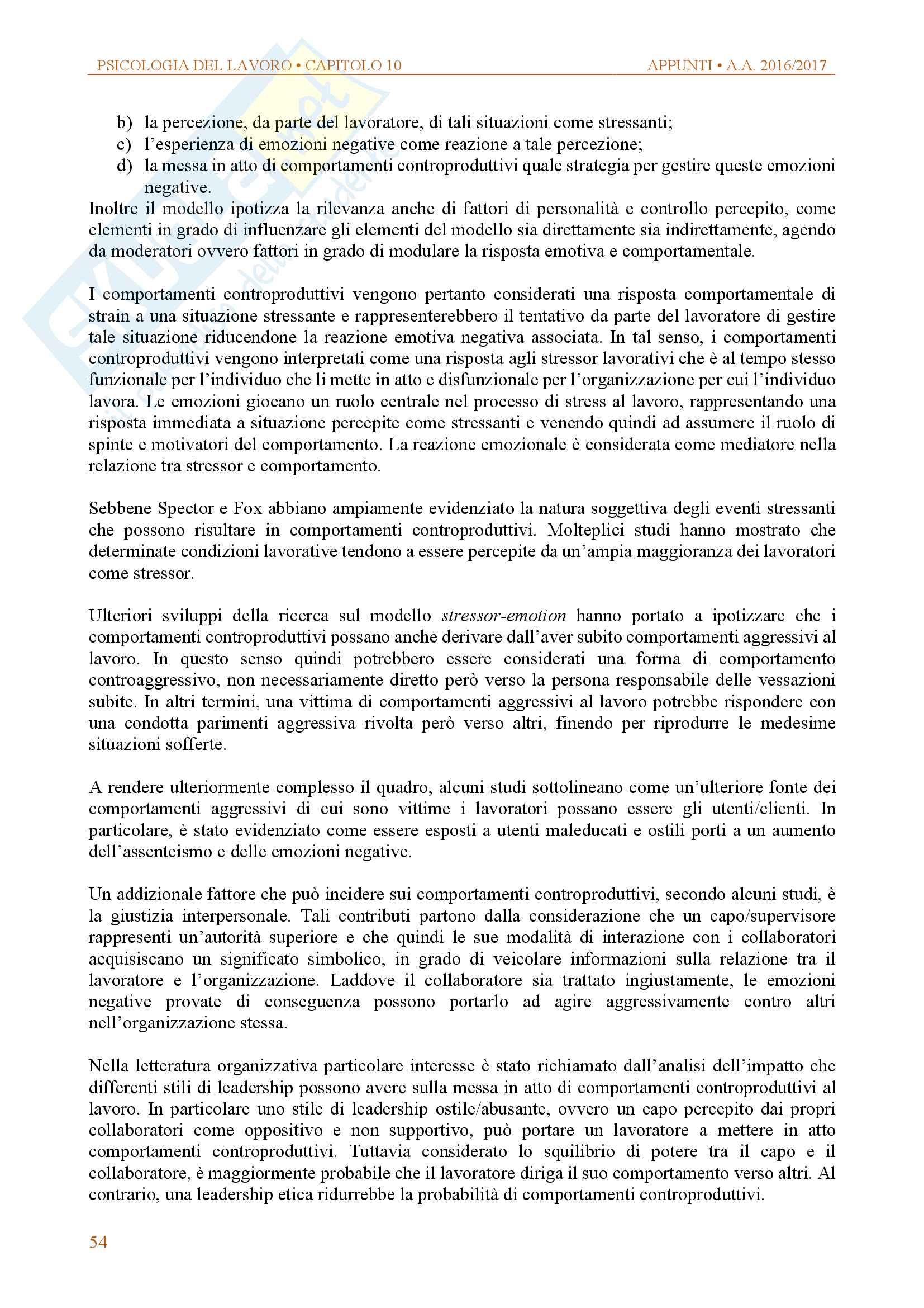 Appunti di psicologia delle organizzazioni e del lavoro Pag. 51