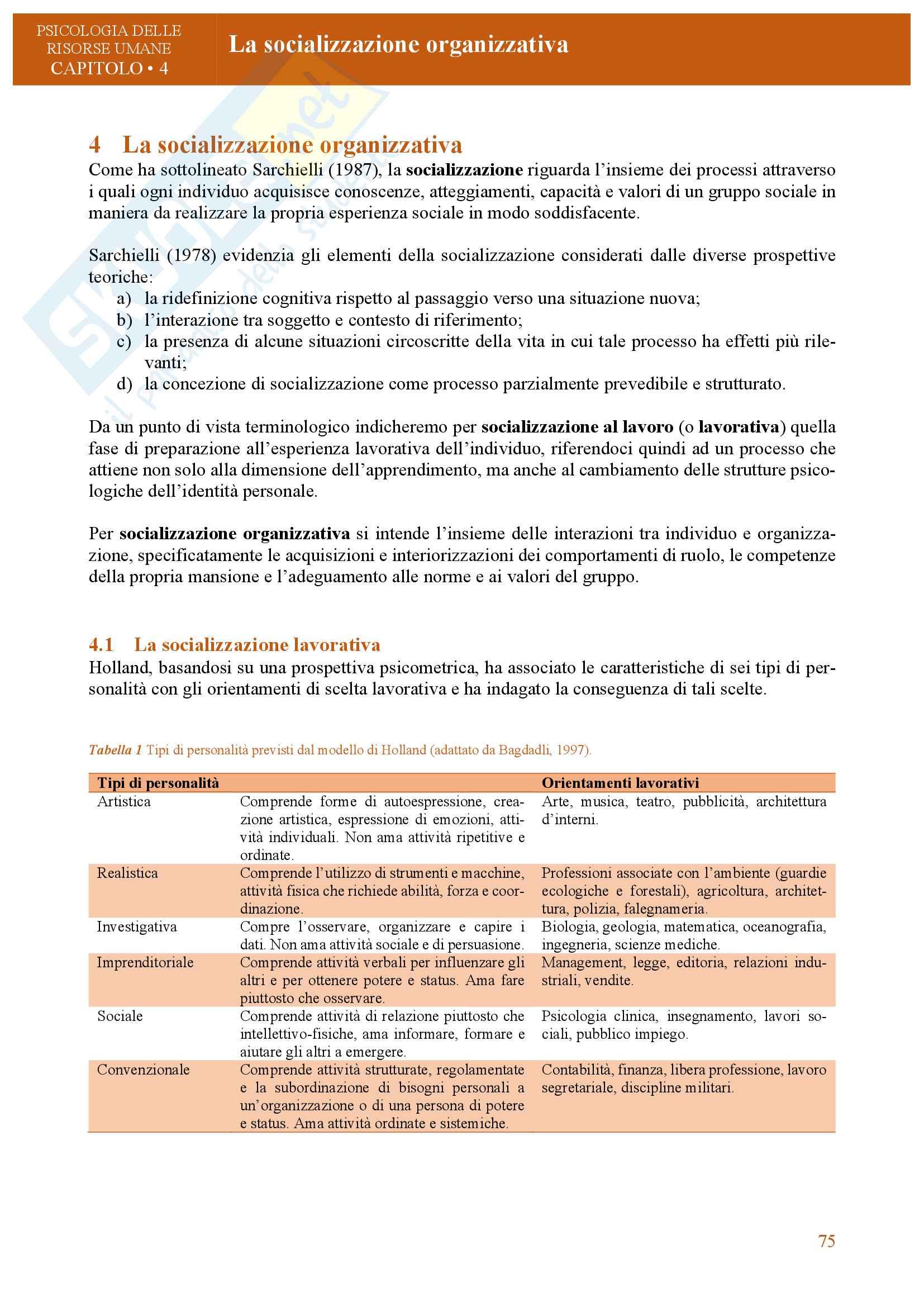 Appunti di psicologia delle organizzazioni e del lavoro Pag. 71