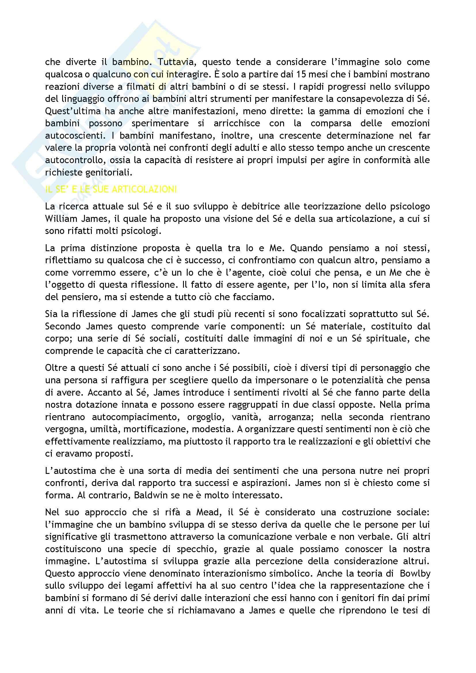 Riassunto esame Psicologia, prof. Caprin, libro consigliato Corso di psicologia dello sviluppo, Berti-Bombi Pag. 16