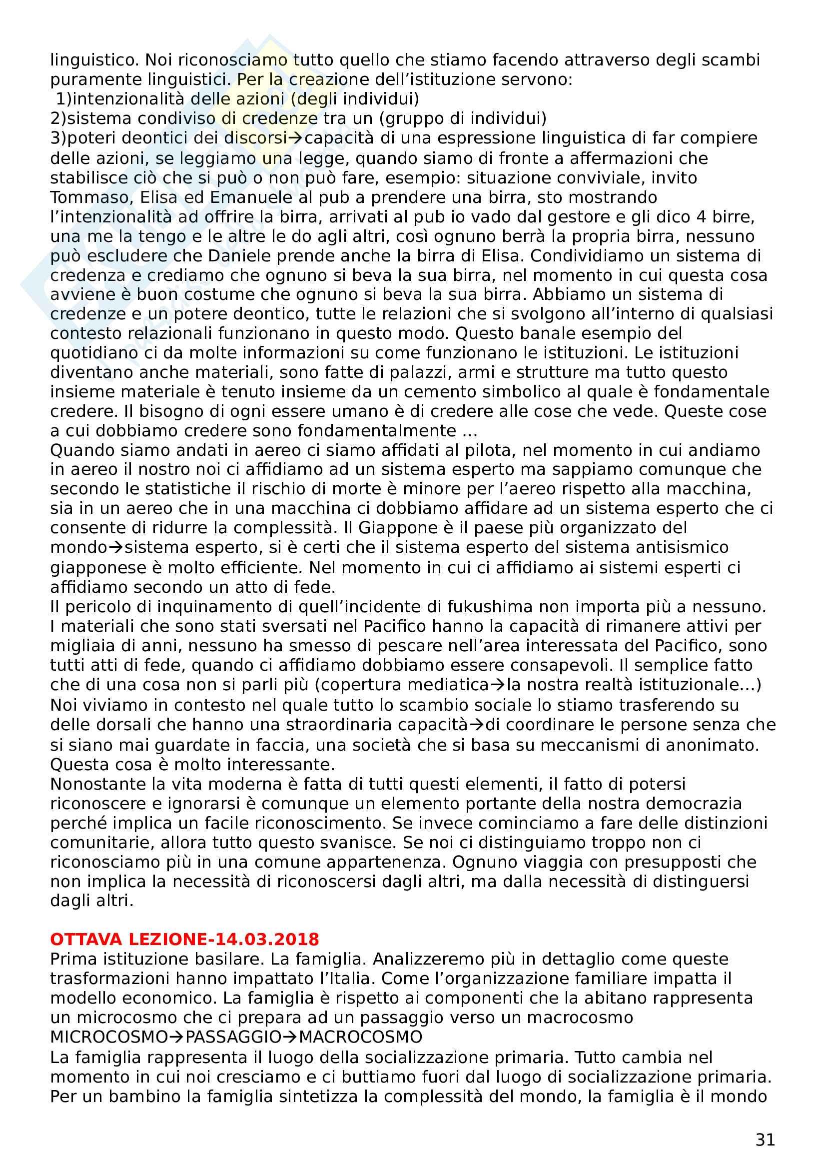 Sociologia economica Pag. 31