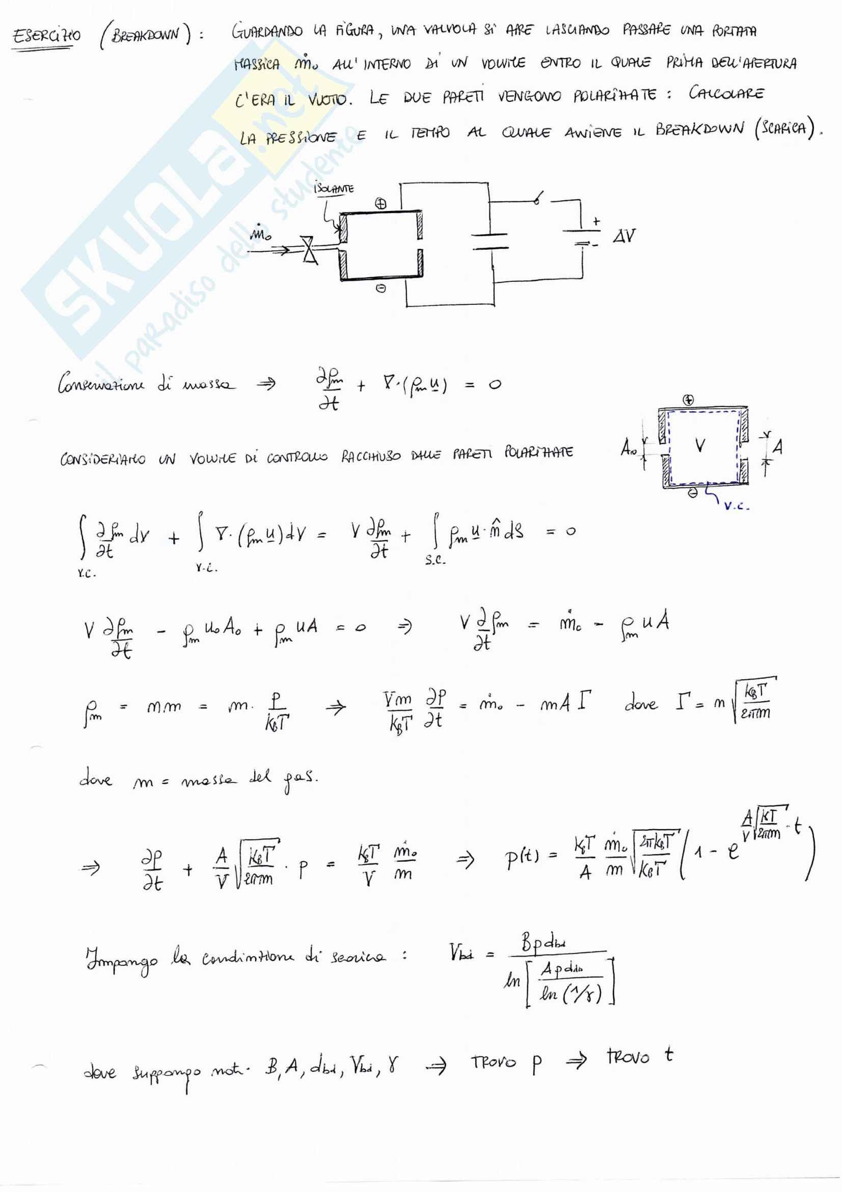 Fisica Del Plasma e Propulsione Elettrica (Esercizi Svolti) Pag. 21