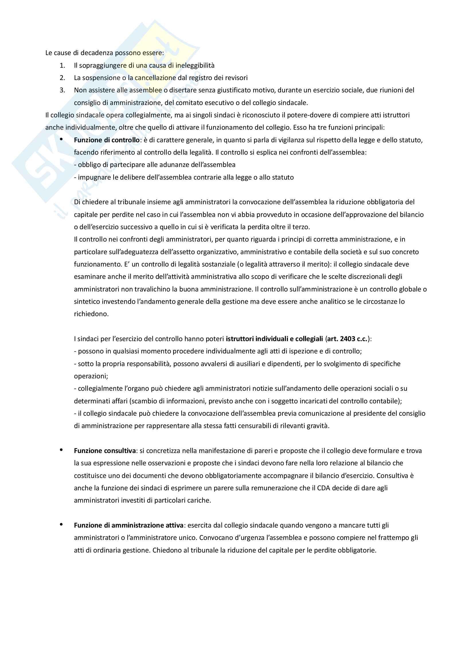 Riassunti per l'esame di Diritto Commerciale Pag. 96