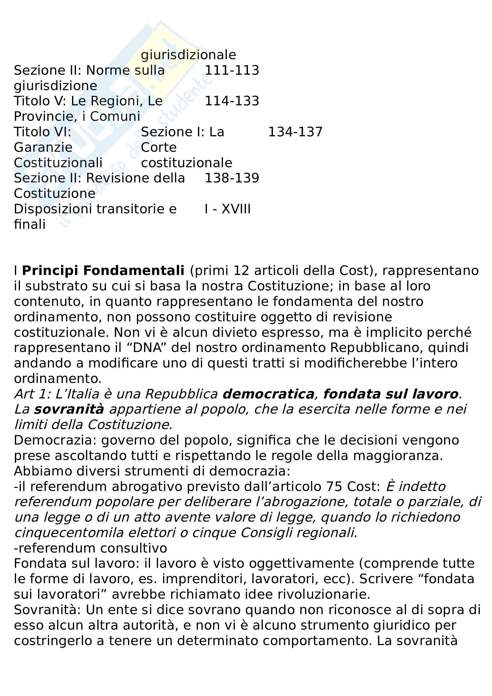 Riassunto diritto pubblico e amministrativo Pag. 11