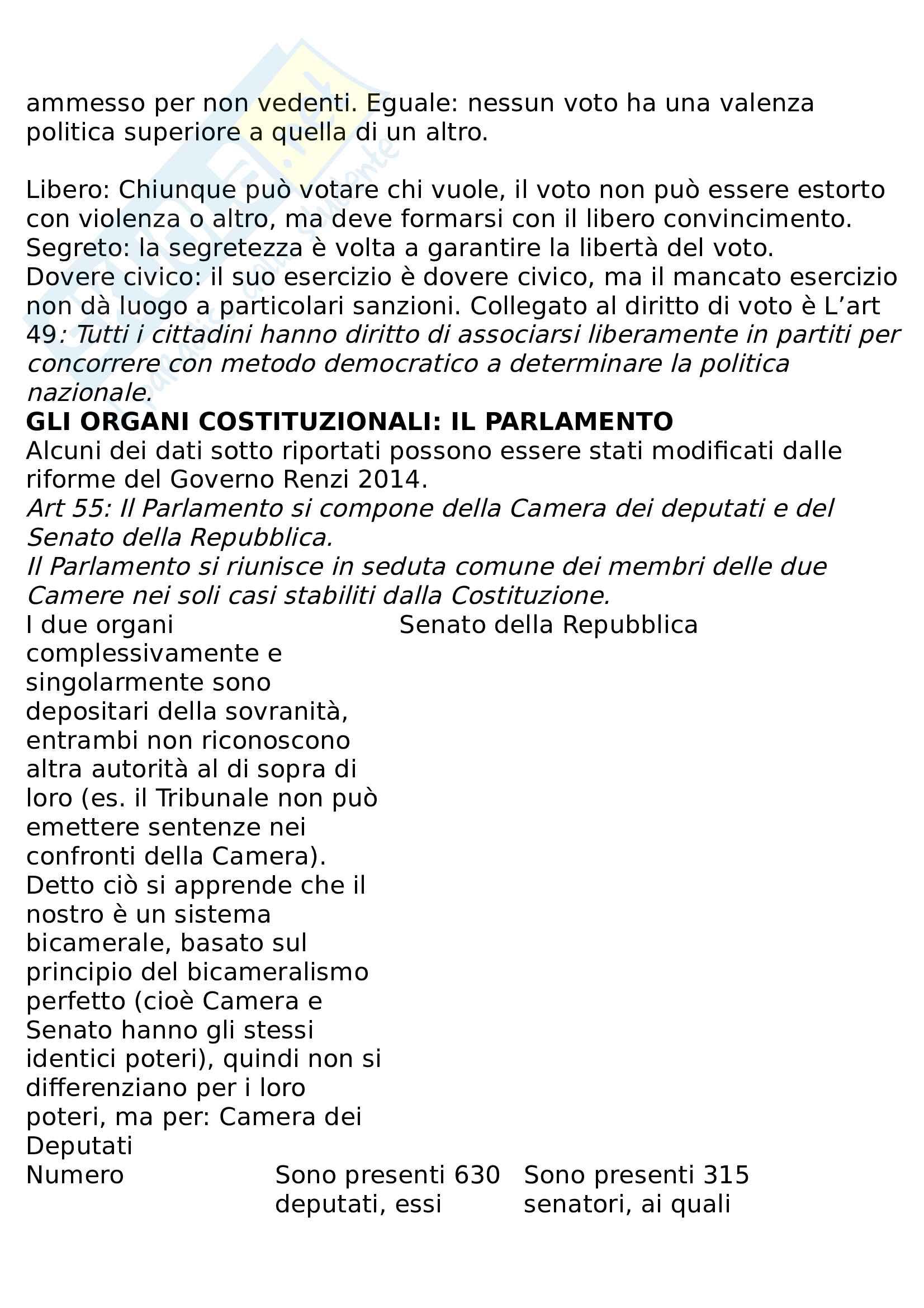 Riassunto diritto pubblico e amministrativo Pag. 16