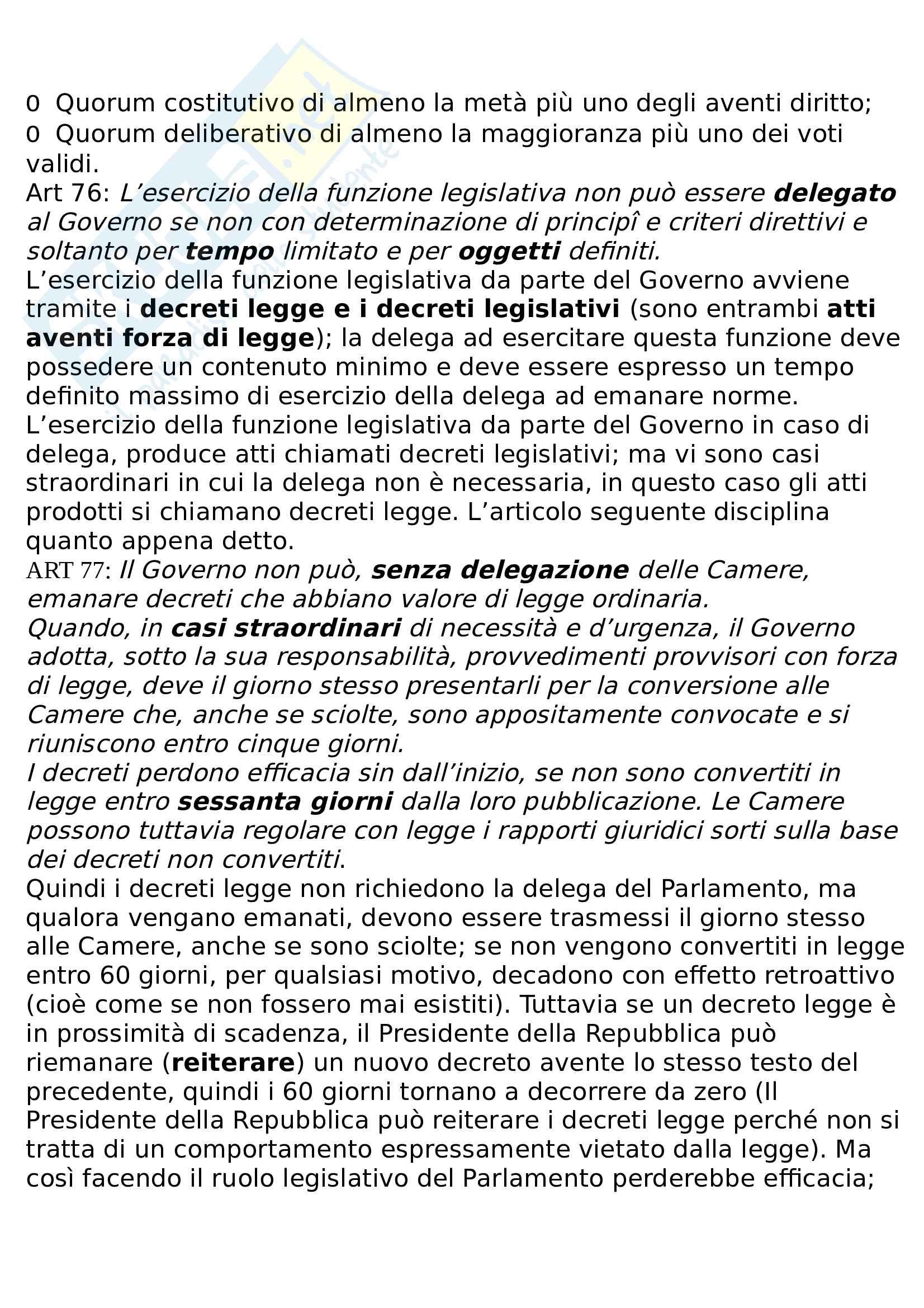 Riassunto diritto pubblico e amministrativo Pag. 21