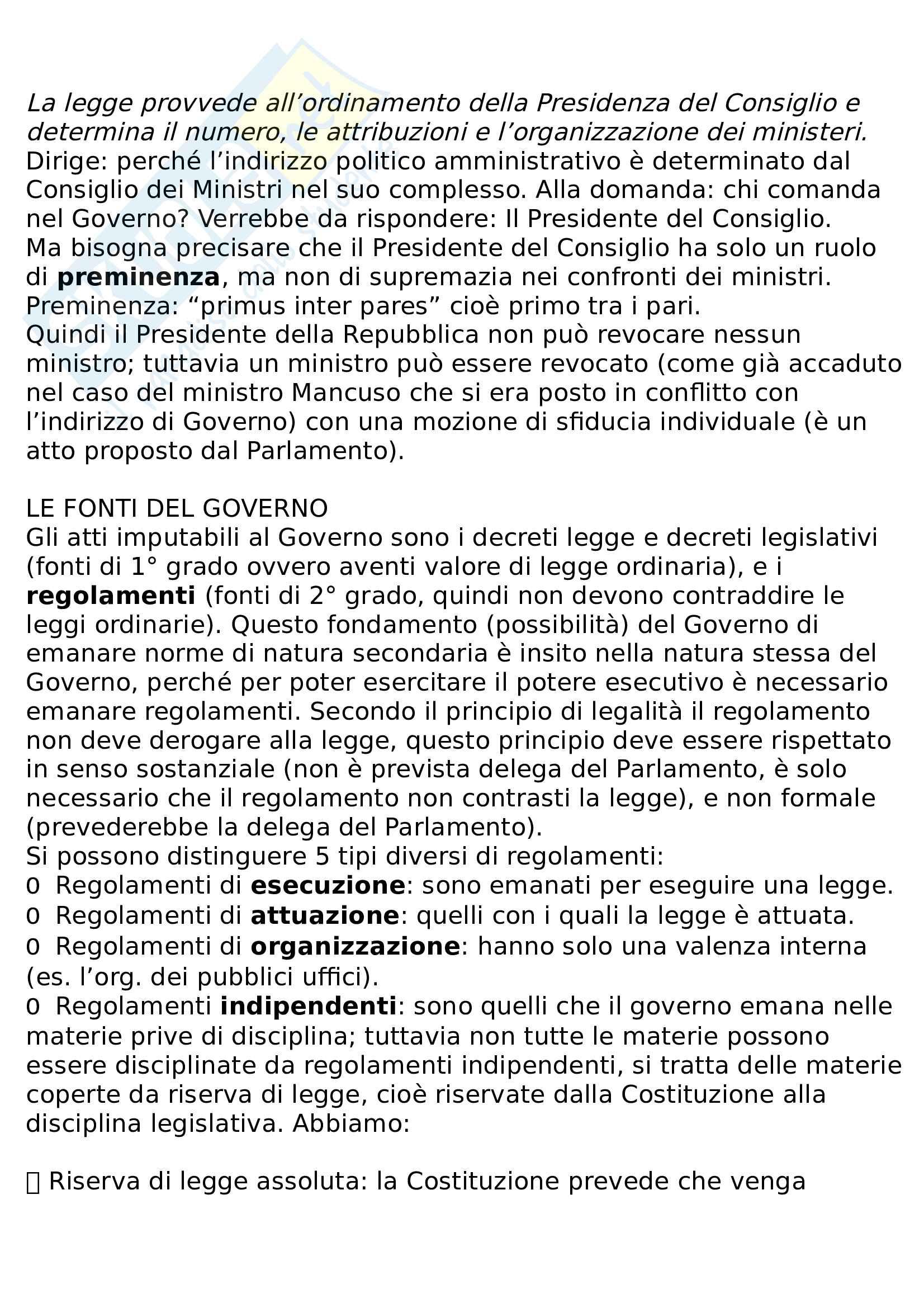 Riassunto diritto pubblico e amministrativo Pag. 26