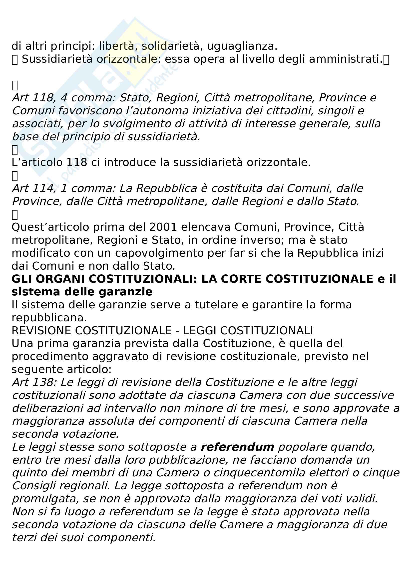 Riassunto diritto pubblico e amministrativo Pag. 31