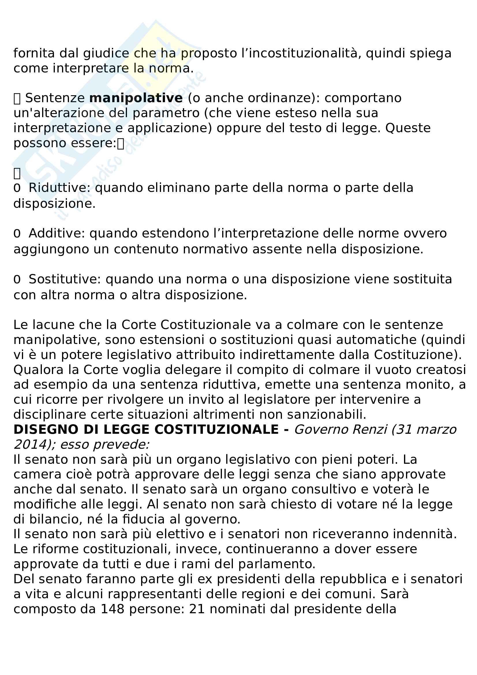 Riassunto diritto pubblico e amministrativo Pag. 36