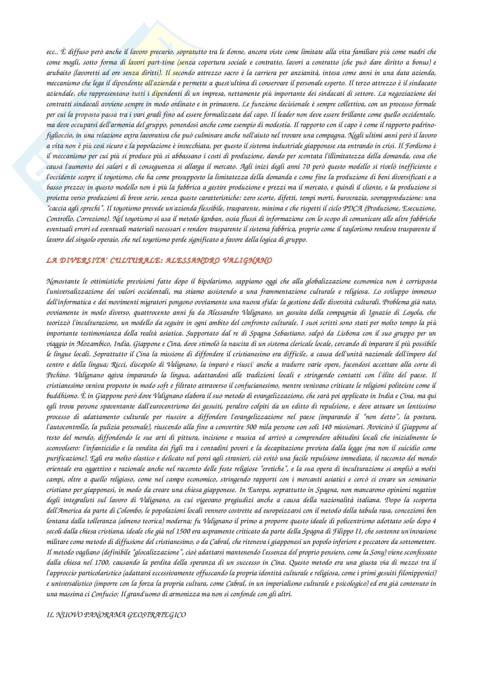 Riassunto esame Processi territoriali delle aree asiatiche, prof. Casti, libro consigliato Asia al centro, Mazzei, Volpi Pag. 6