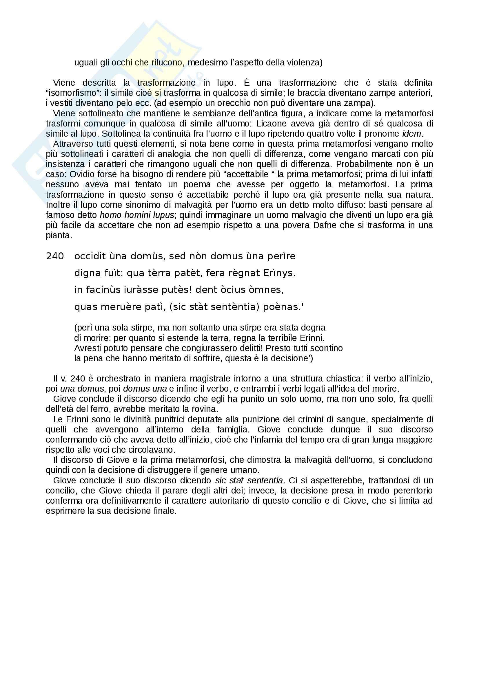 Le «Metamorfosi» di Ovidio tradotte e commentate, Libro I Pag. 26