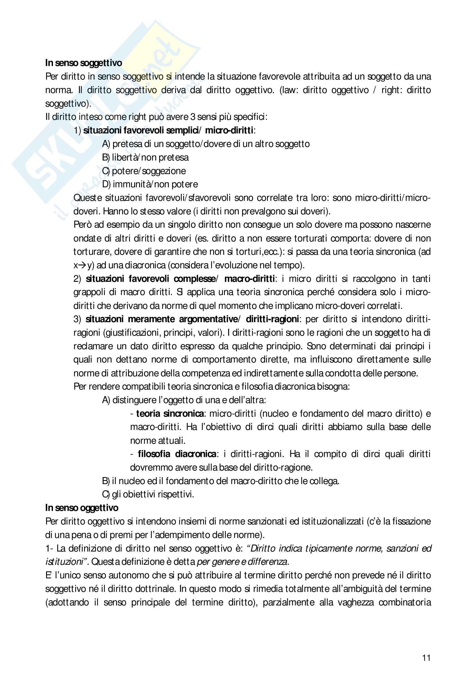 Riassunto esame filosofia del diritto, prof. Heritier, libro consigliato Manuale di filosofia del diritto, Barberis Pag. 11